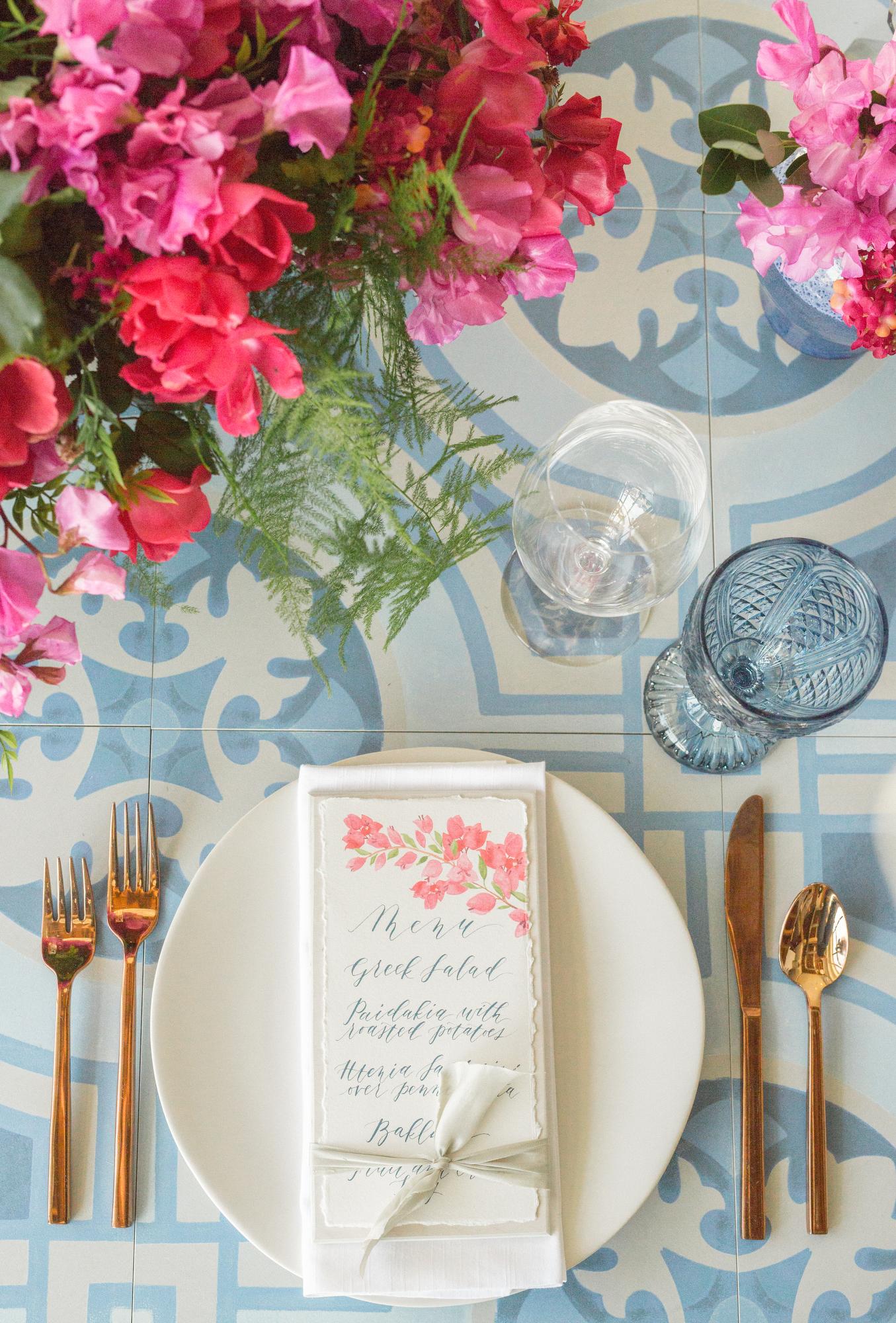 Something Blue Wedding Design | Santorini Wedding | Greece Inspired Design | Michelle Leo Events | Utah Event Planner and Designer | Britt Chudleigh Photography