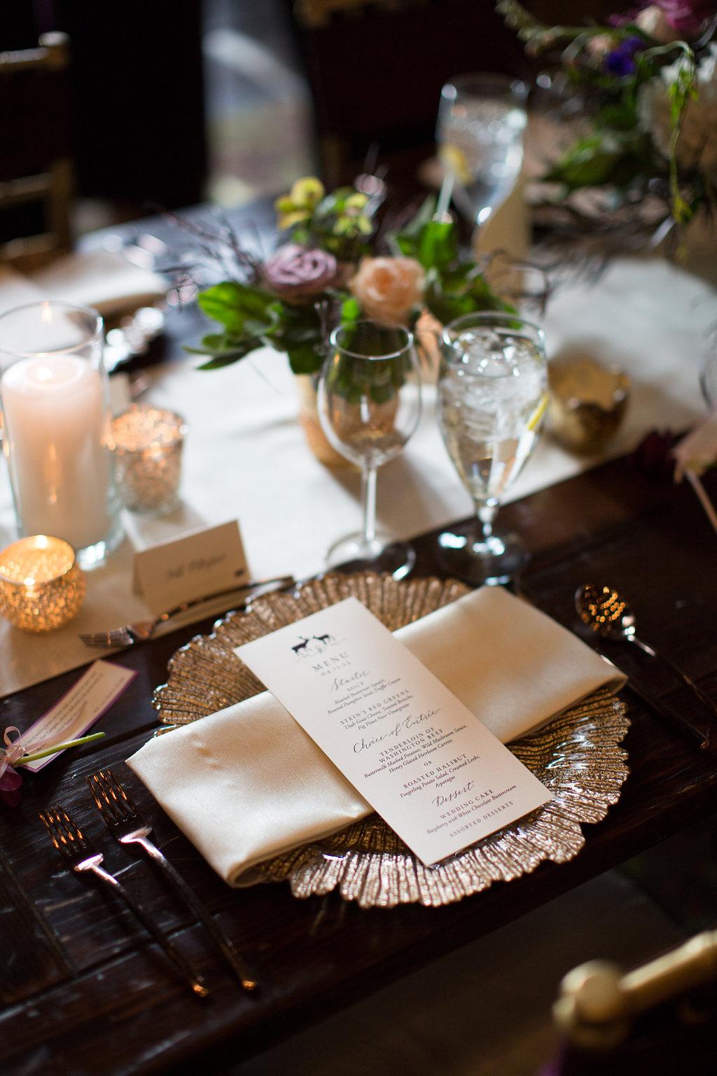 Stein Eriksen Lodge Wedding | Winter Wedding | Plum and Blush | Michelle Leo Events | Utah Wedding Design and Planning | Patricia Lyons Photography