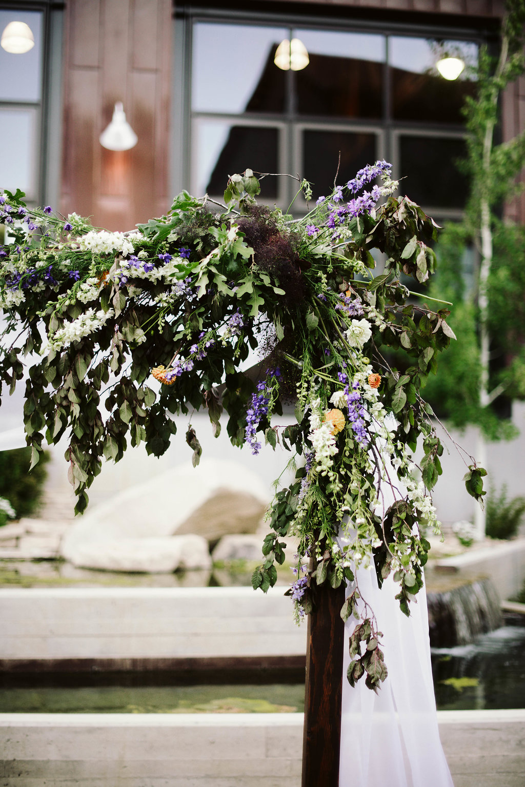 Rustic Wedding with Wildflowers | Park City Summer Wedding | High West Distillery Wedding | Michelle Leo Events | Utah Event Planner | Haley Nord Photography