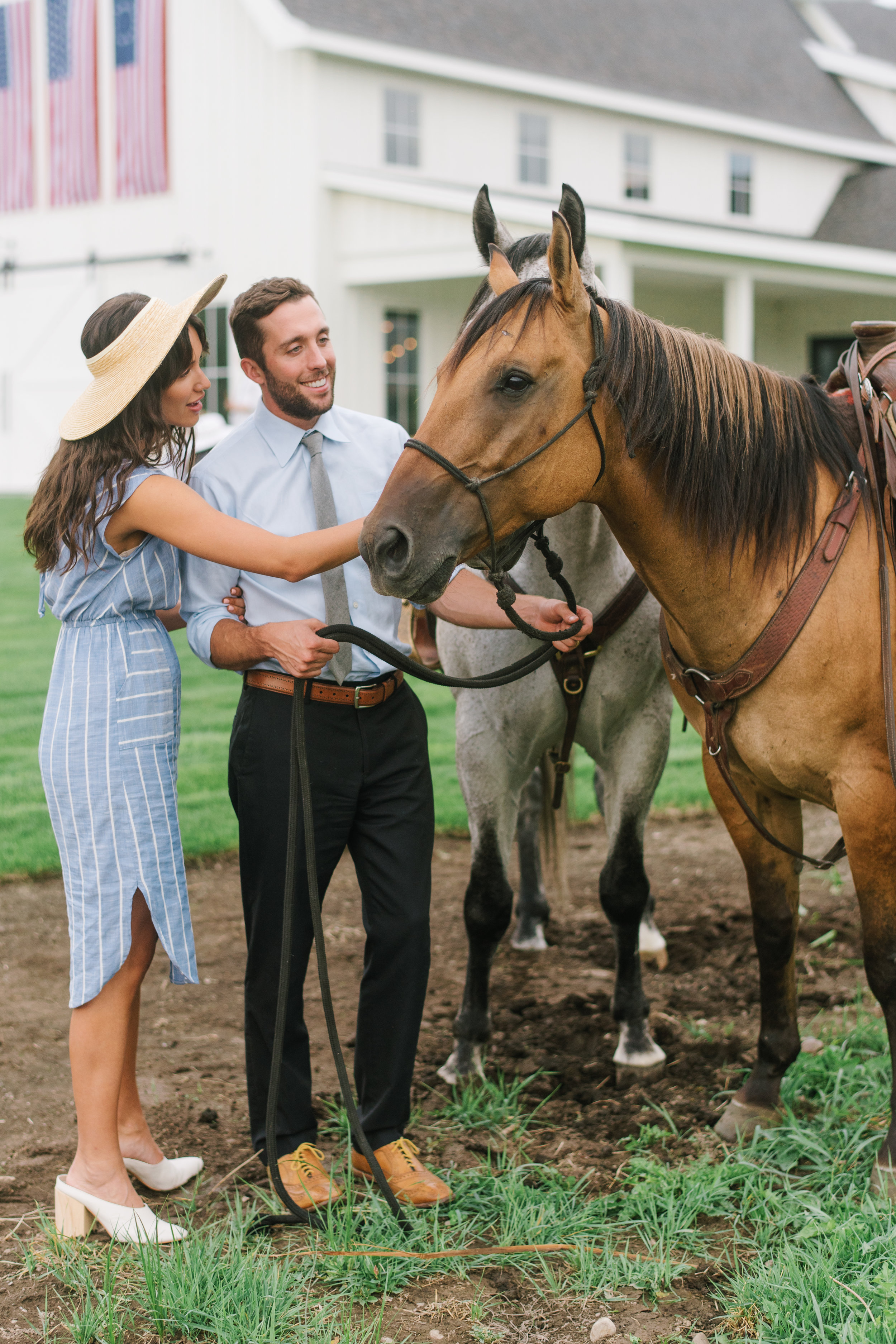 All-American Rehearsal Dinner | Red, White, and Blue Decor | Utah Valley Bride Magazine | River Bottoms Ranch | Michelle Leo Events | Utah Event Planner and Designer | Heather Nan Photography