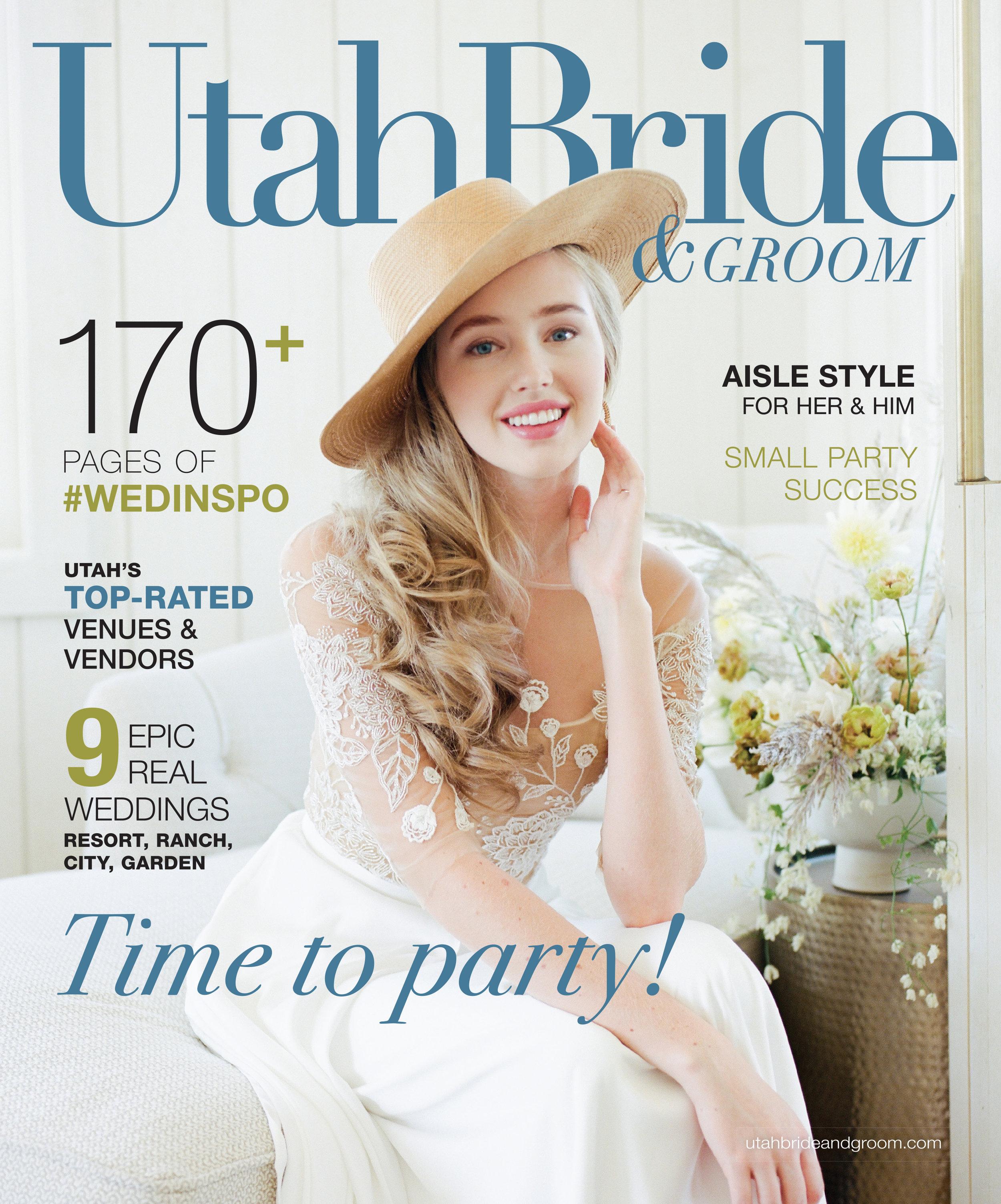 Winter Wedding Inspiration | Burgundy Wedding | Emerald Green Decor | Utah Bride & Groom Magazine | Michelle Leo Events | Utah Event Planner and Designer
