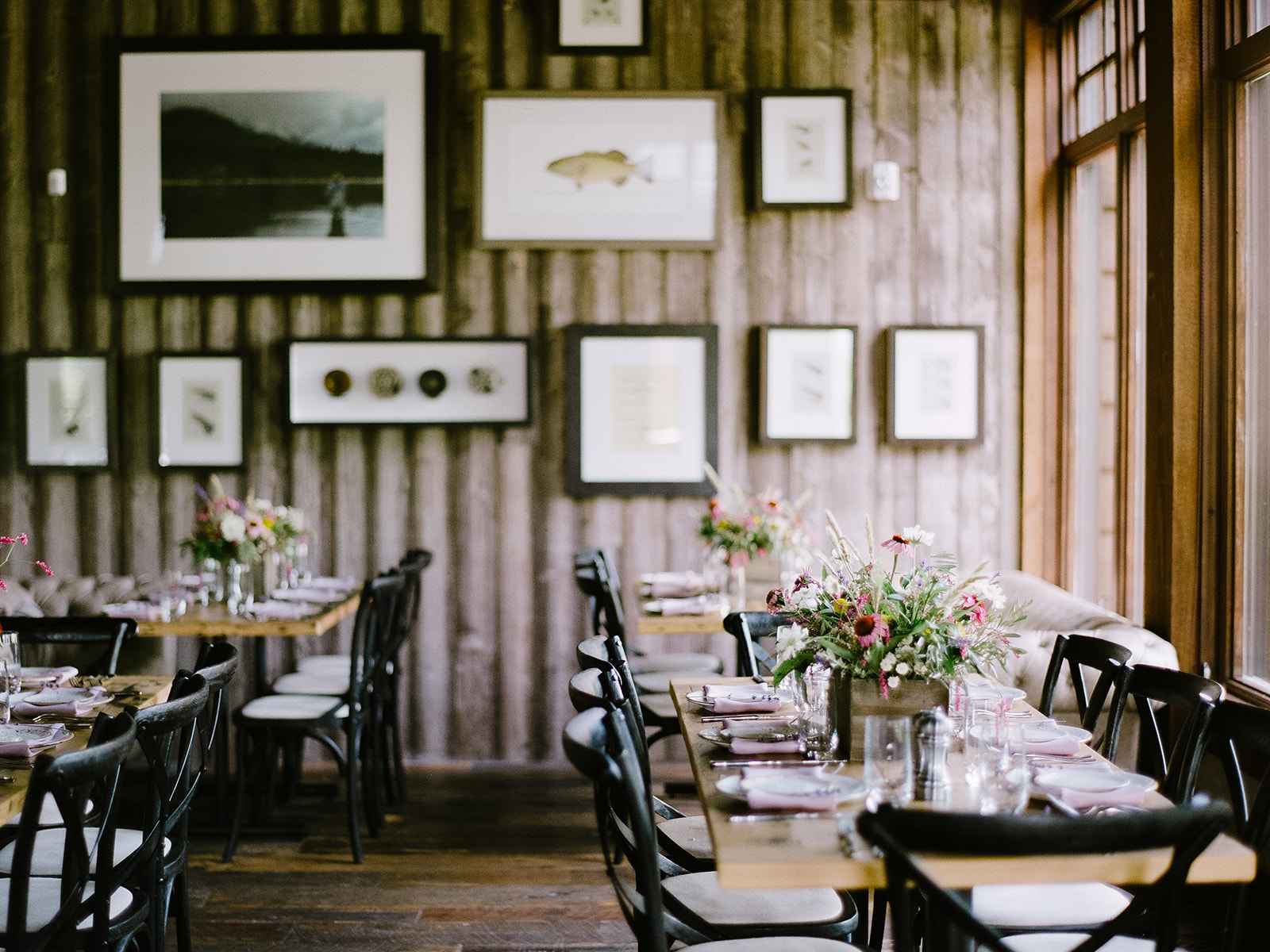 Victory Ranch Rehearsal Dinner | Summer Wedding | Lilac Decor | Wildflower Centerpieces | Michelle Leo Events | Utah Event Planner and Designer | Heather Nan Photography