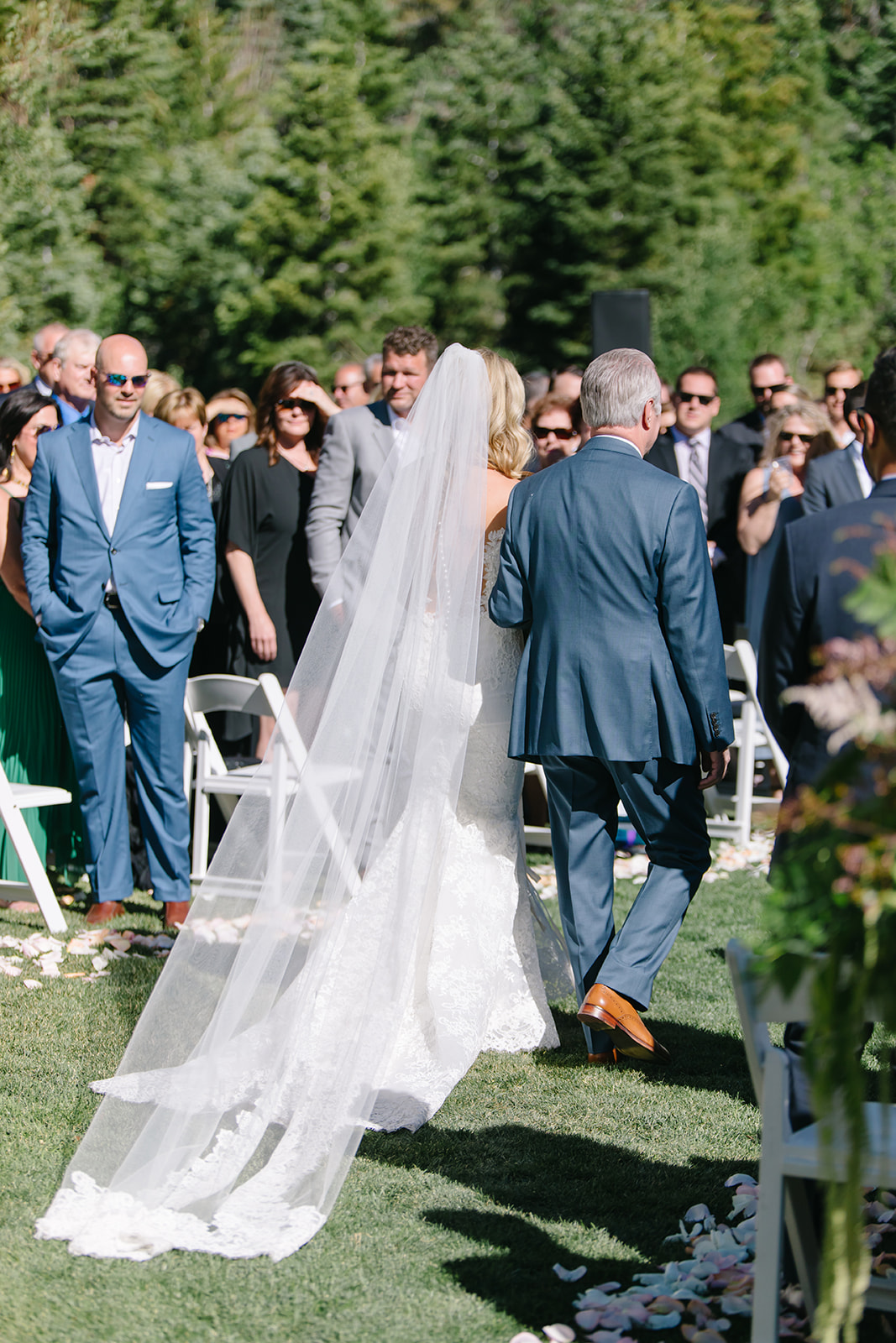 St. Regis Deer Valley Wedding | Summer Wedding | Blush and Cream Decor | Contemporary Wedding Design | Michelle Leo Events | Utah Event Planner and Designer | Heather Nan Photography