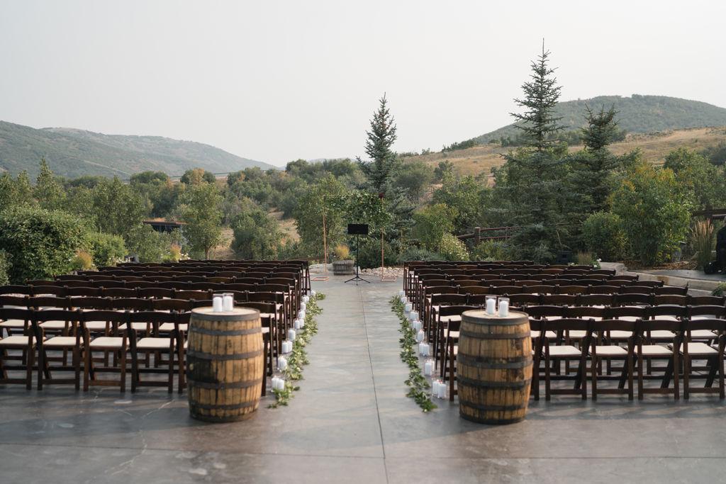 Blue Sky Ranch Wedding | Summer Wedding | Rustic Wedding Design | Lush Greenery | Natural Floral | Michelle Leo Events | Utah Event Planner | Travis J Photography