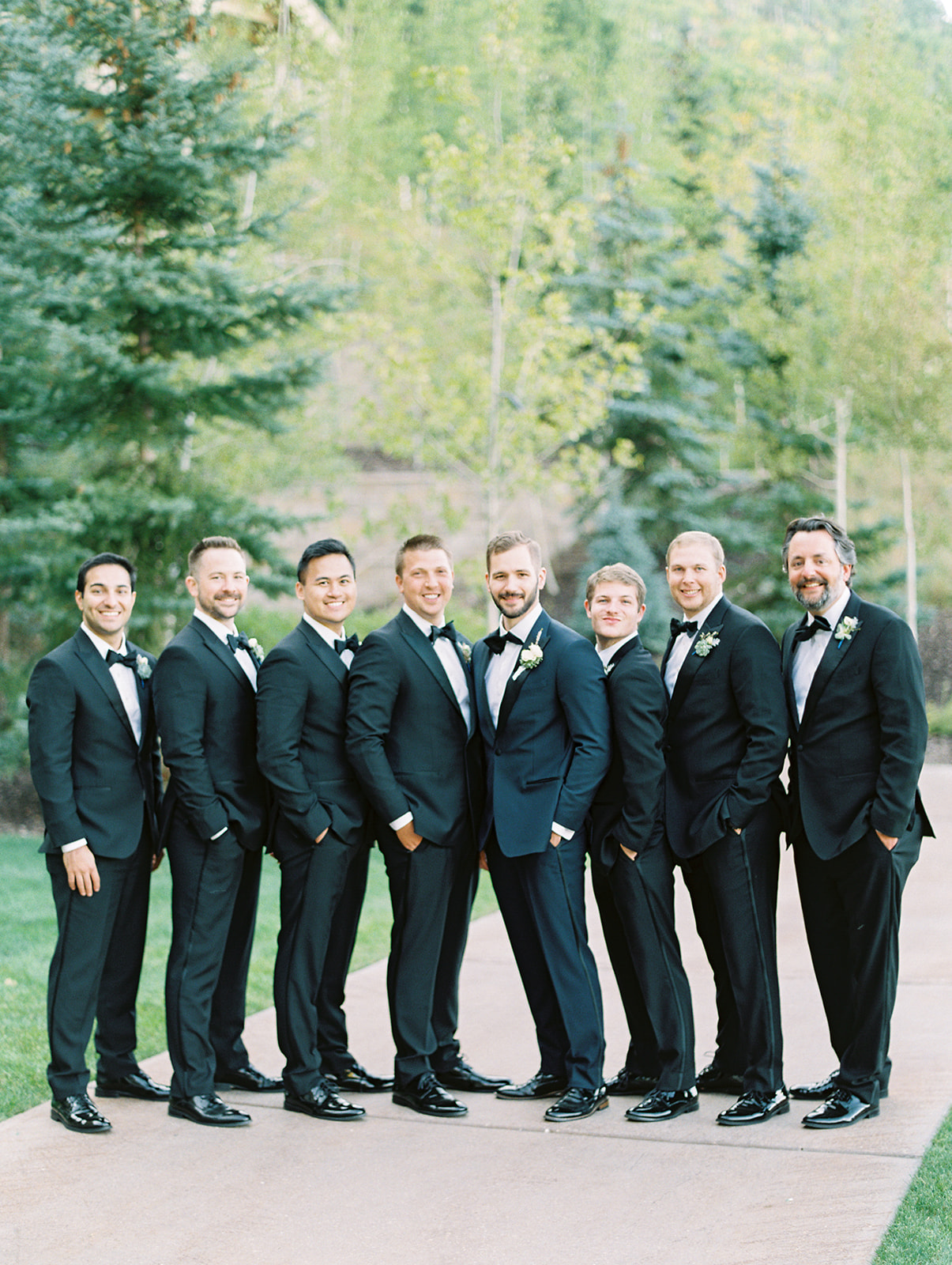Montage Deer Valley Wedding | Classic Wedding Design | Circular Ceremony Arch | Mountain Wedding | Michelle Leo Events | Utah Event Planner | Kenzie Victory Photography