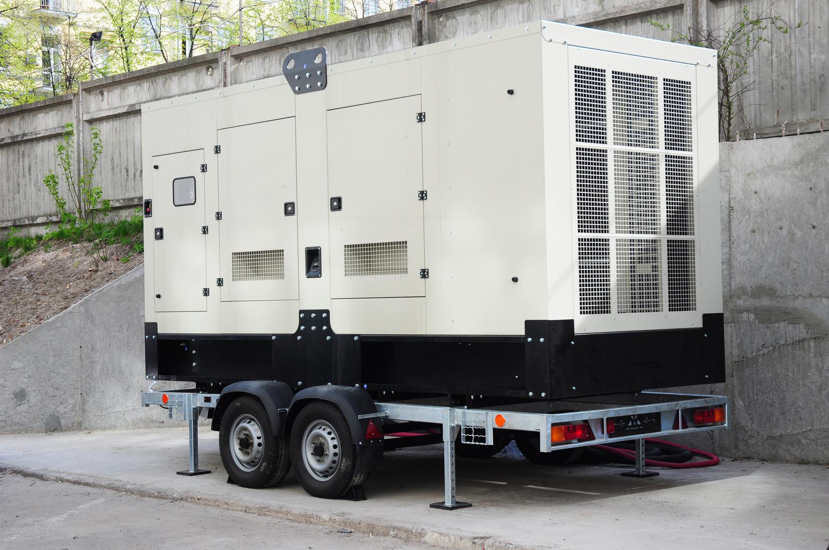 Standalone generator.