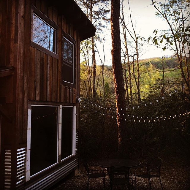 Magical stay outside of Asheville. Great inspiration for my 'commune' thanks @littleforestliving for creating this gem!