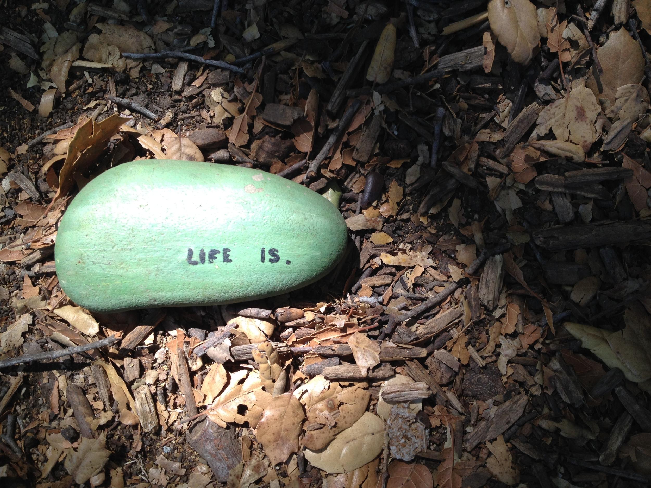 Life is Nourishing.