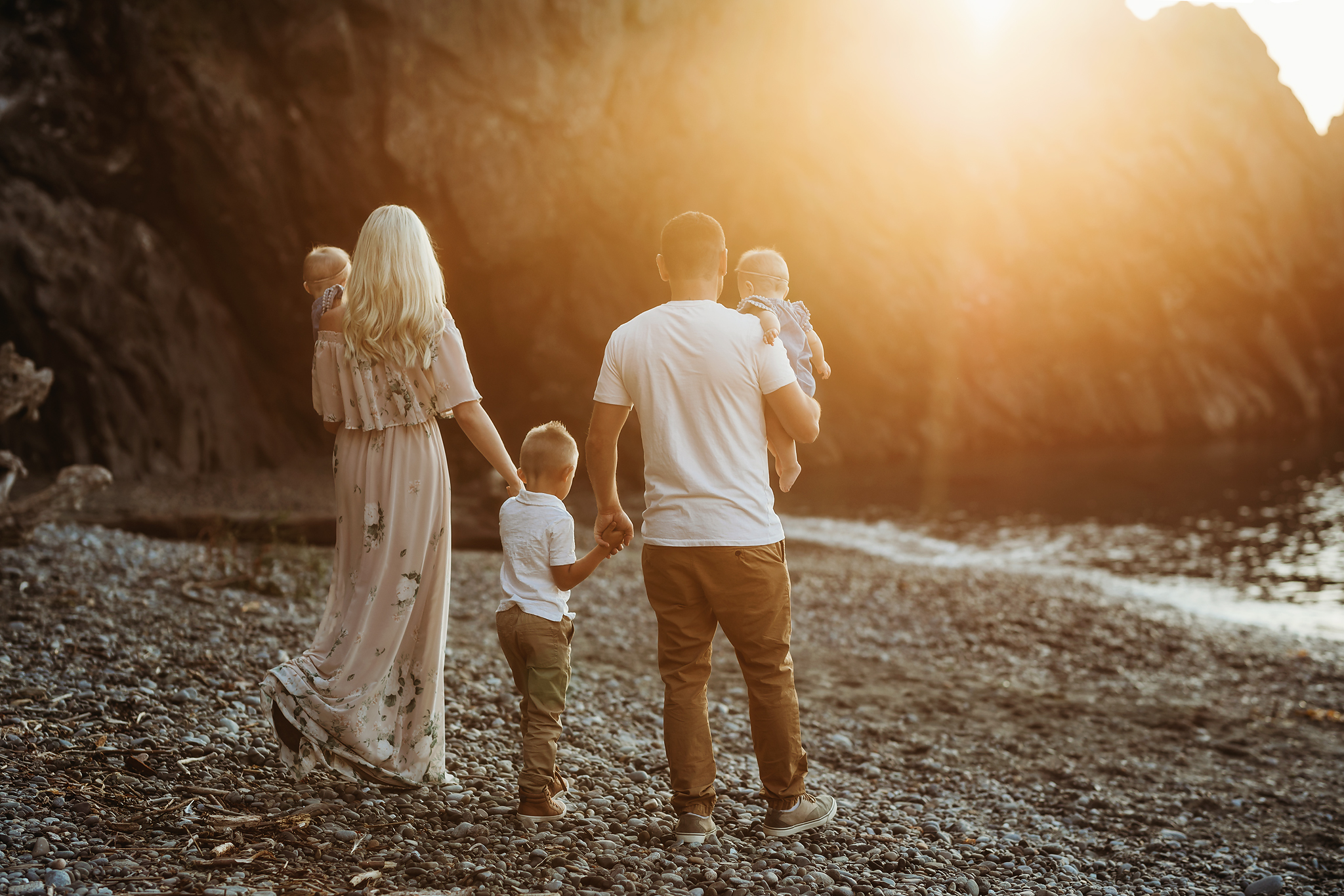 Sunset - Motherhood | Family