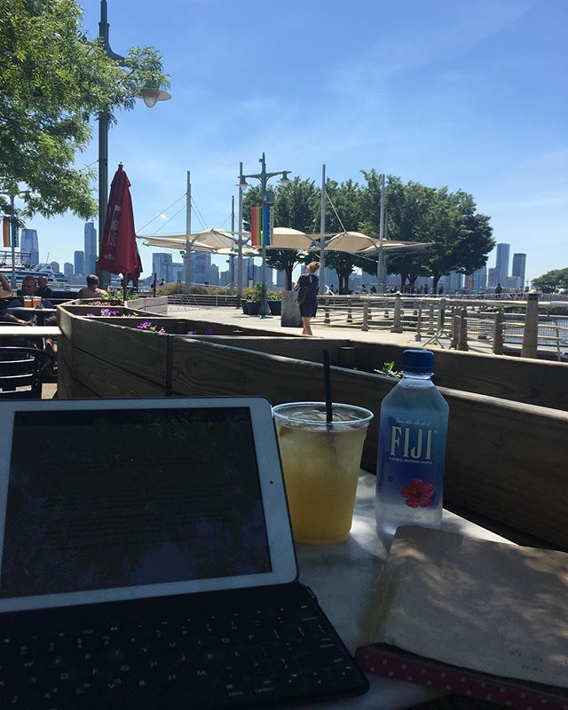 Summer writing office. I could cheer up myself to get out and have sangria. Wish everyday is like this. -•- Benefits of Pilates vary depending on your need. Just because you don't feel it, does not mean you are doing it wrong. -•- I truly believe #pilatesisforeveryone -•- #pilatesinstructor #nyc #studio26nyc #Chelsea #westvillage #UpperWestSide #London #mentalhealth #fitness #fitfam #josephpilates #pilatesgeneral #yeraspilates #progressnotperfection #core #mentalhealthawareness #glutes #balance #pilatesforautism #ichlebe #coordination #contrology #필라테스 #뉴욕 #Korean #한국인 #depression #summer #nofilter