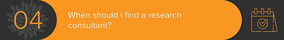 A consultant can point you to the best donor research tools and guide the prospecting process.