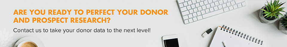 See how Donorly can take your prospect research to the next level!