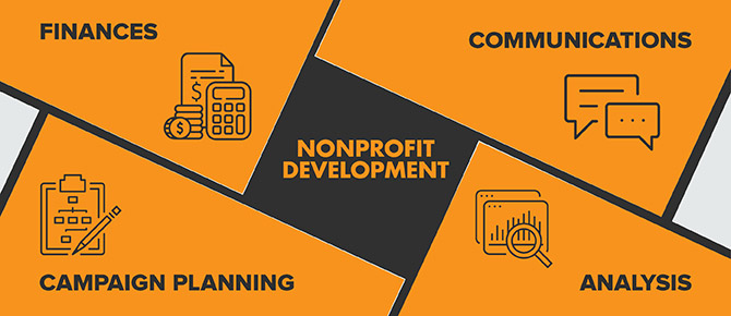 Nonprofit development consultants provide support in a number of key areas that all relate to your fundraising health.