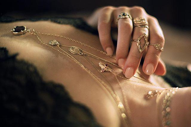 All the things 📸@theglasszipper ✨ ✨ ✨ ✨ #bjoijewelry #bgenuineblovebjoi #futureheirlooms #madeinla #handmade #jewelry #sculpturejewelry #sculpturedjewelry #sculpturaljewelry #handmadejewelry #gold #14k #alternativebride #alternativebridal #ring #rings #necklaces #necklace #altbride #altbrides #uncommonbride #alternativeengagementring #alternativewedding #jewelryADD #ojai #losangeles