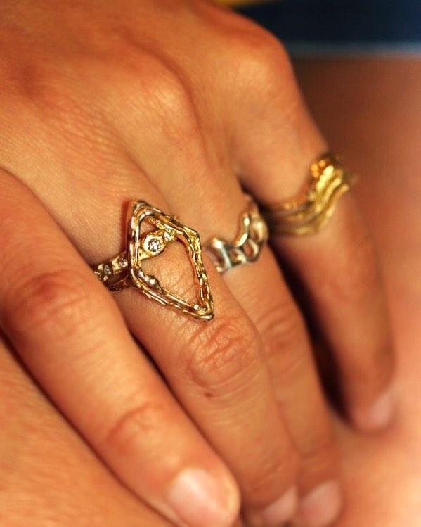 ✨ on ✨ on 💎 📸@avalovestacobell ⚡️ ⚡️ ⚡️ #bjoijewelry #bgenuineblovebjoi #futureheirlooms #madeinla #handmade #jewelry #sculpturejewelry #sculpturedjewelry #sculpturaljewelry #handmadejewelry #gold #14k #alternativebride #alternativebridal #necklaces #necklace #altbride #altbrides #uncommonbride #alternativeengagementring #alternativewedding #jewelryADD #ojai #losangeles