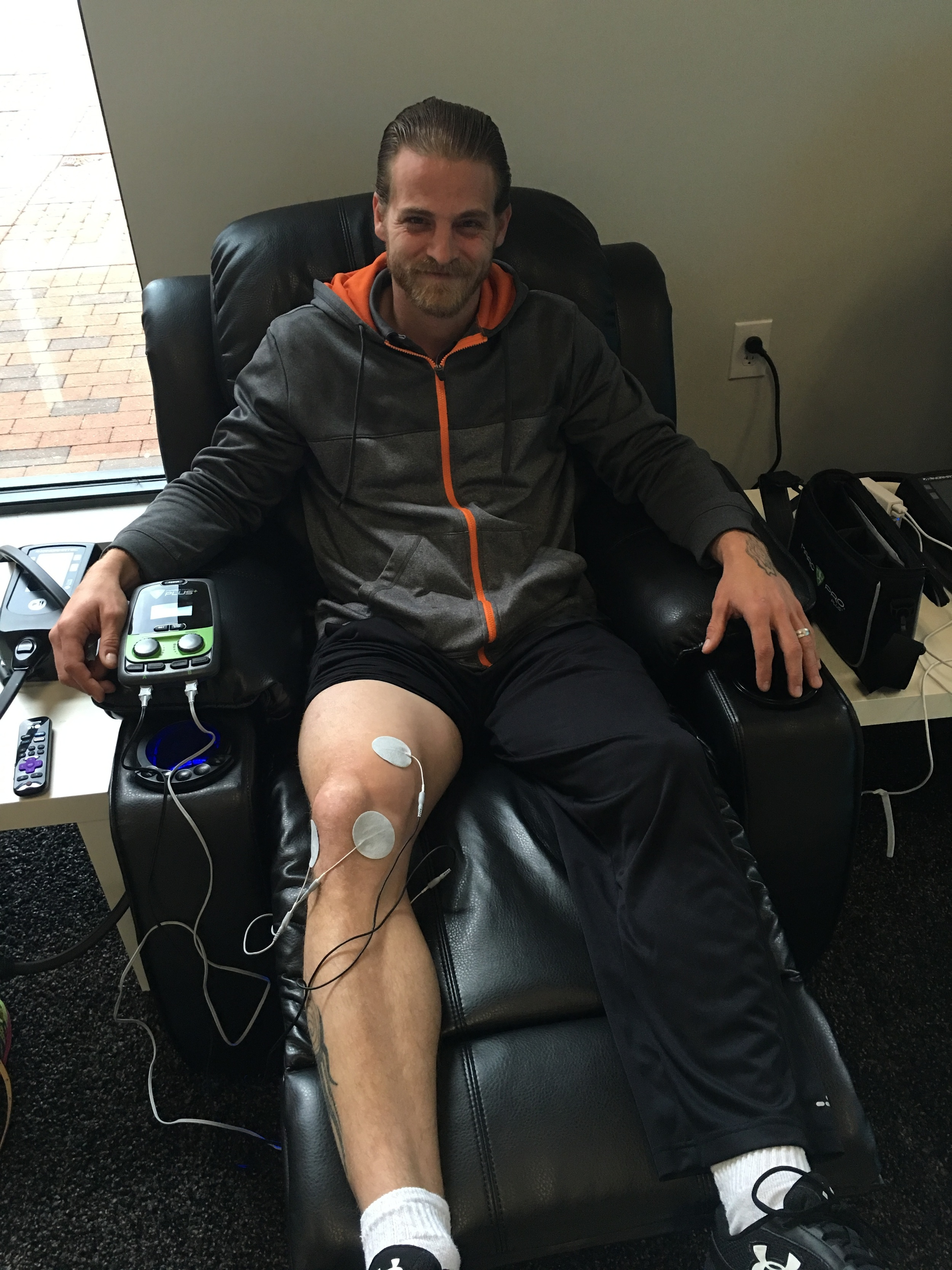 Mark Pro electrotherapy treatments in Houston, TX | Cryo Recovery
