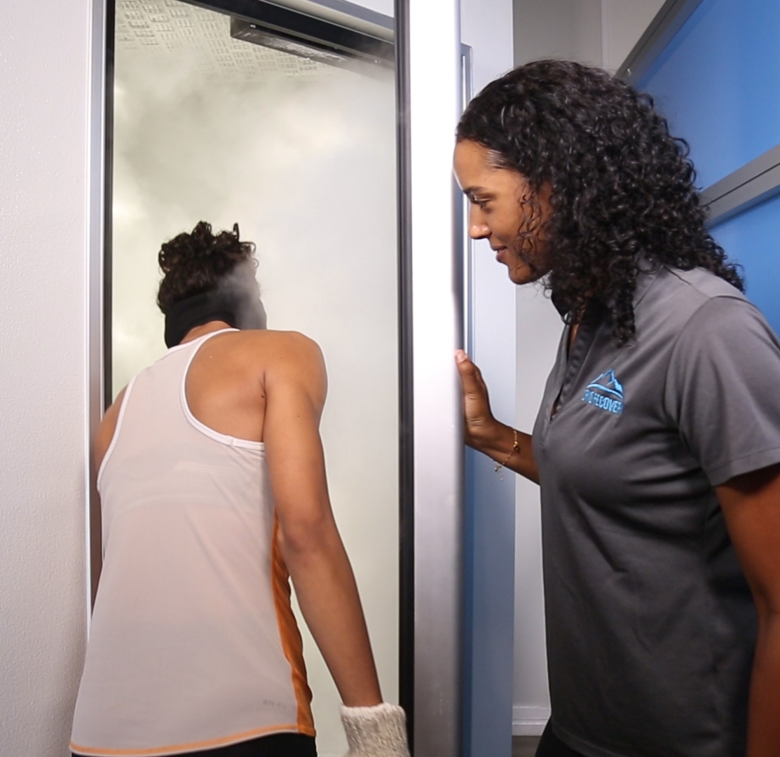 Houston whole body cryotherapy at Cryo Recovery
