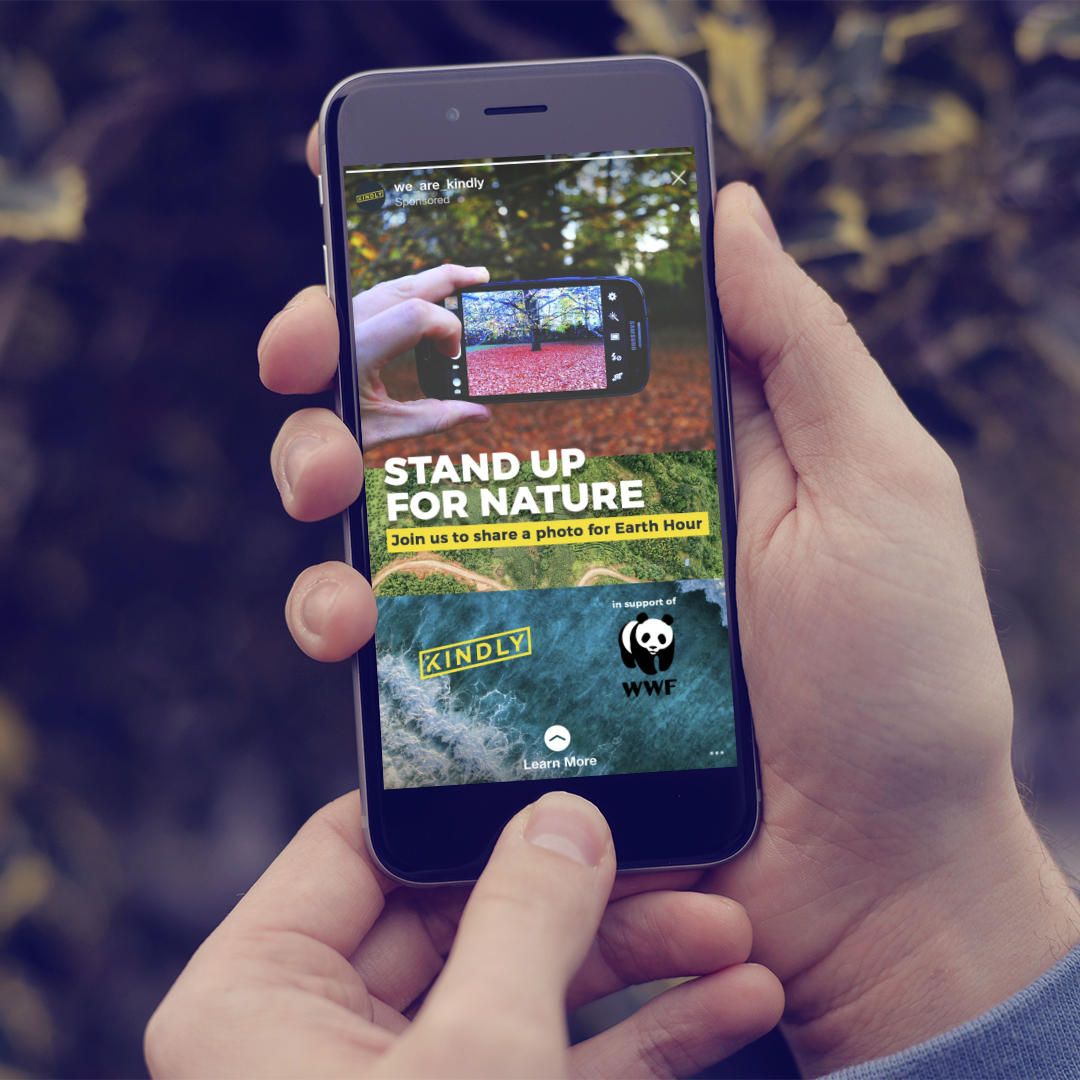 We ran a digital advertising campaign that targeted photographers, outdoor enthusiasts and nature lovers.