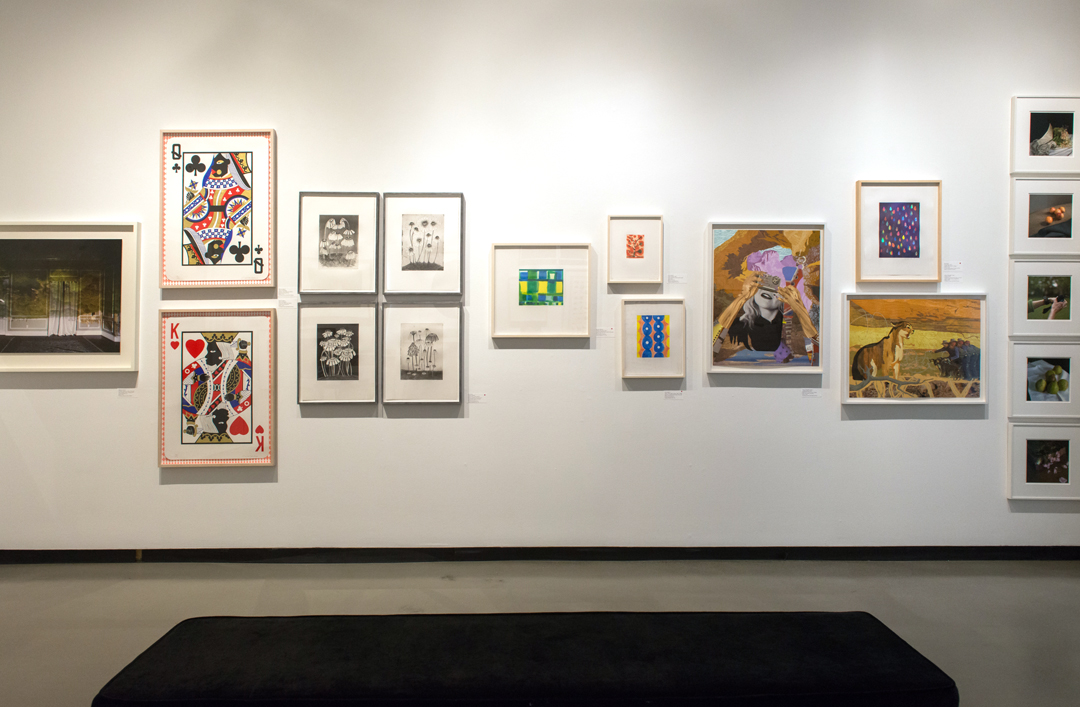 Installation shot of  The Print Sale , courtesy of Margaret Fox Photography
