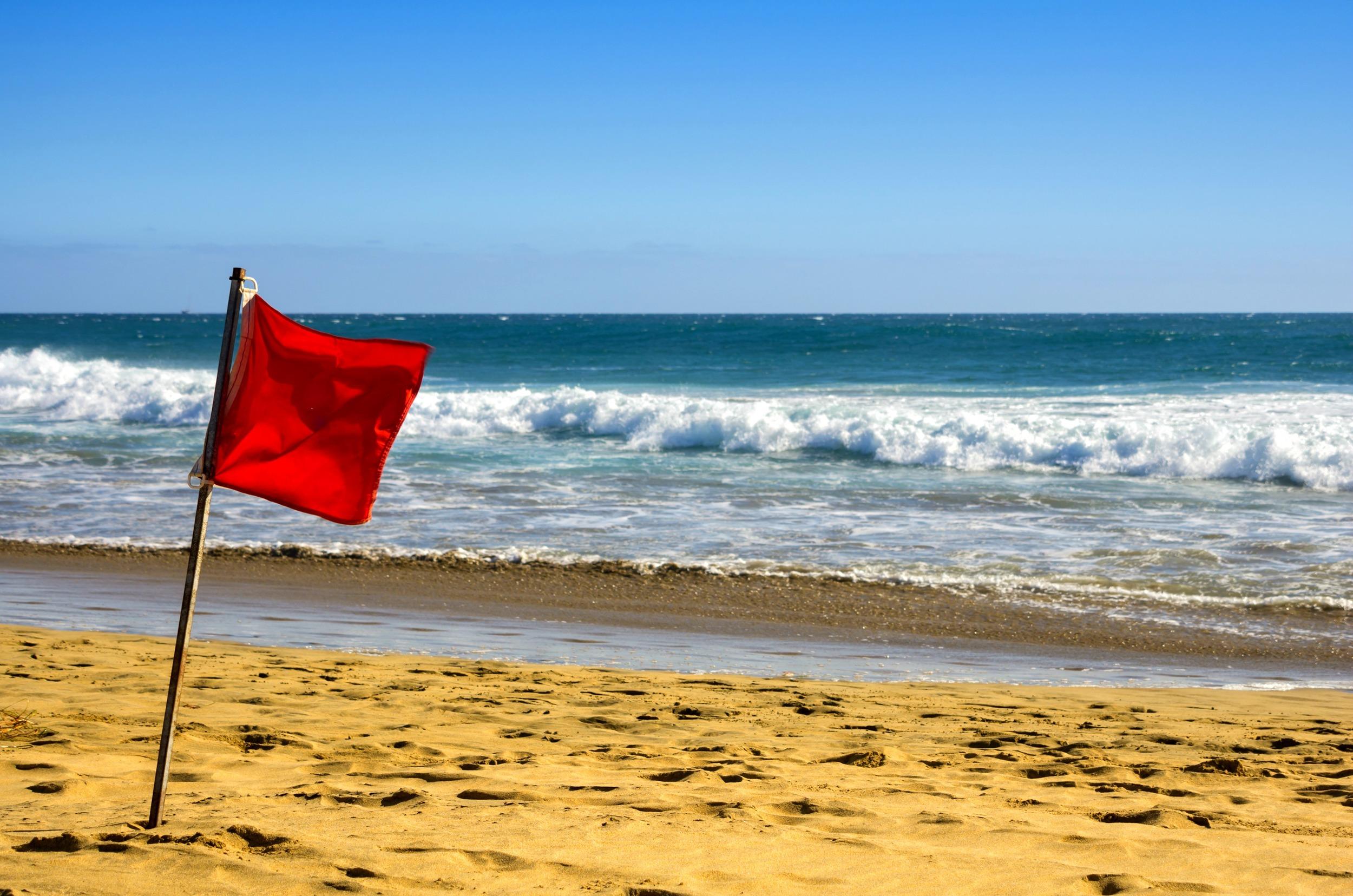 Mompreneur on Fire - Red Flag