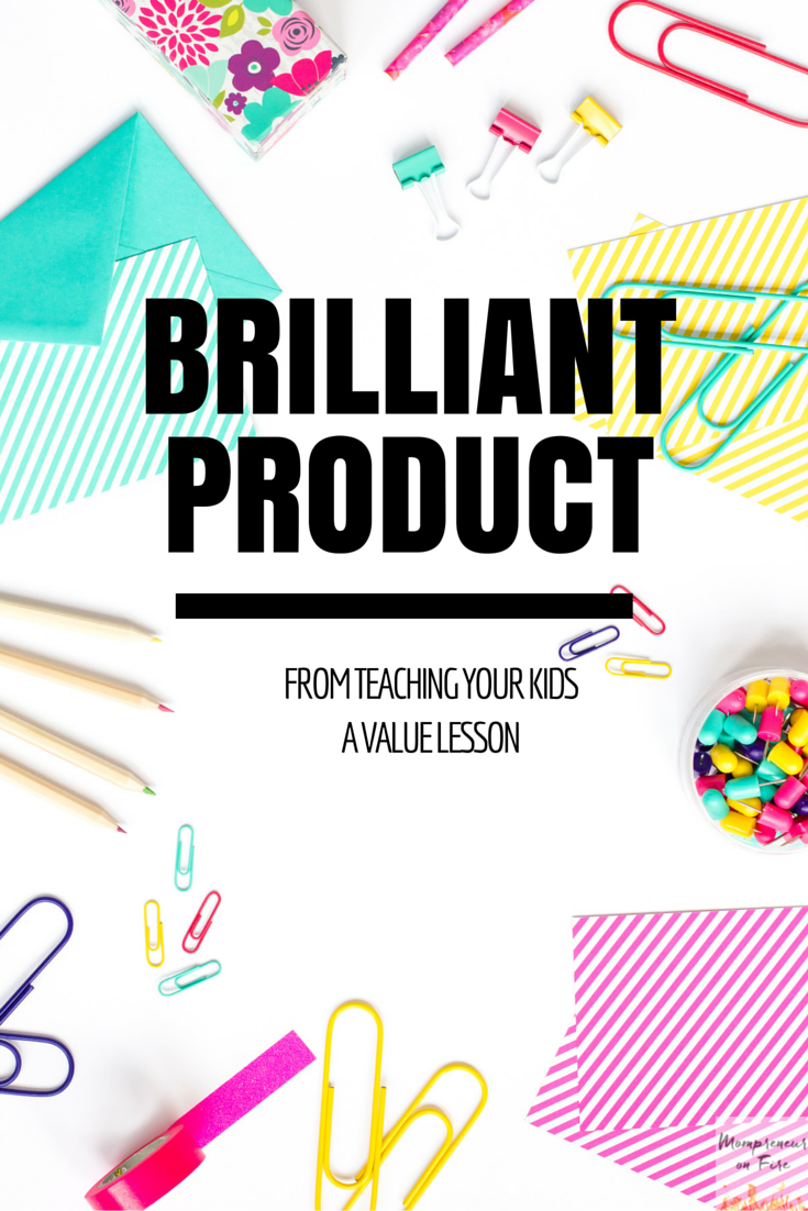 Mompreneur on Fire - Brilliant Product
