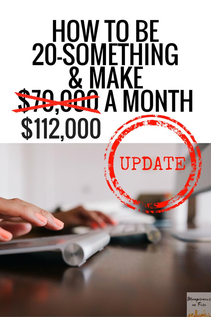 Mompreneur on Fire- Making Sense $112k A Month