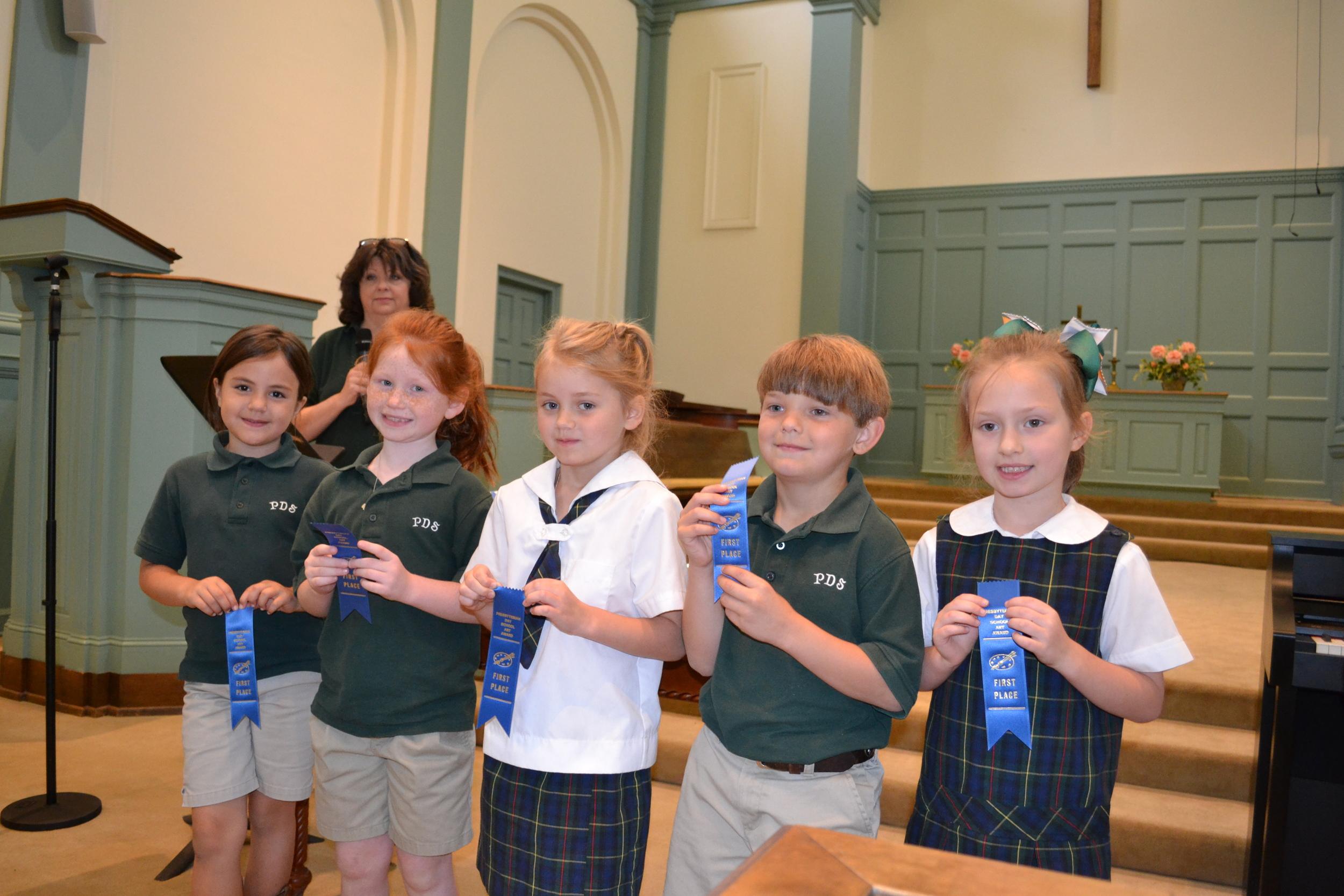PDS art winners - 1st grade