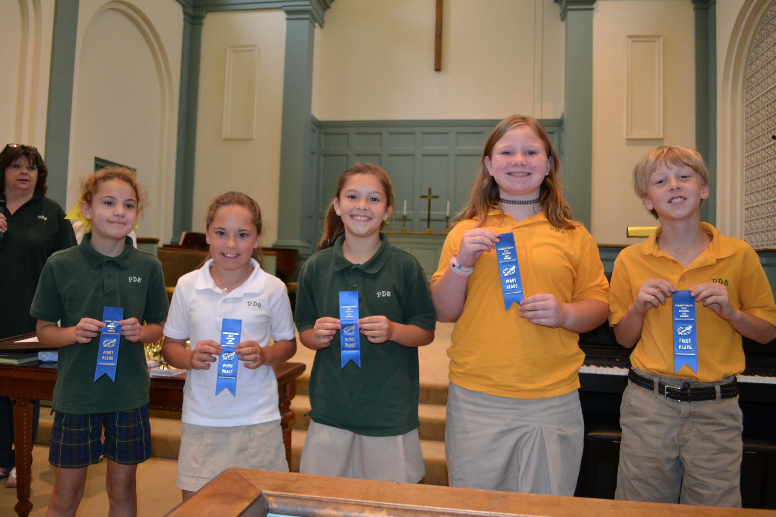 PDS art winners - 3rd grade