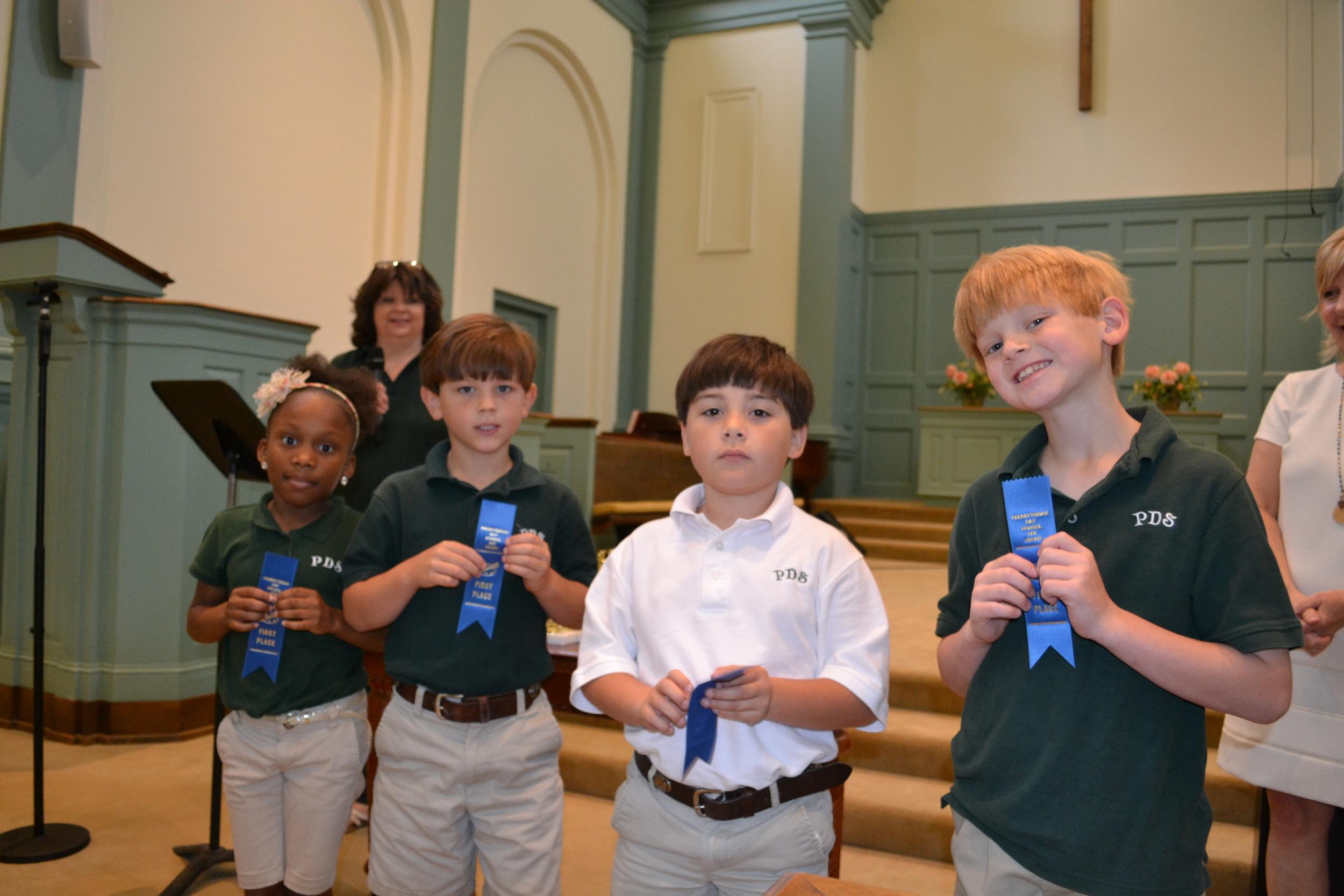PDS art winners - 2nd grade