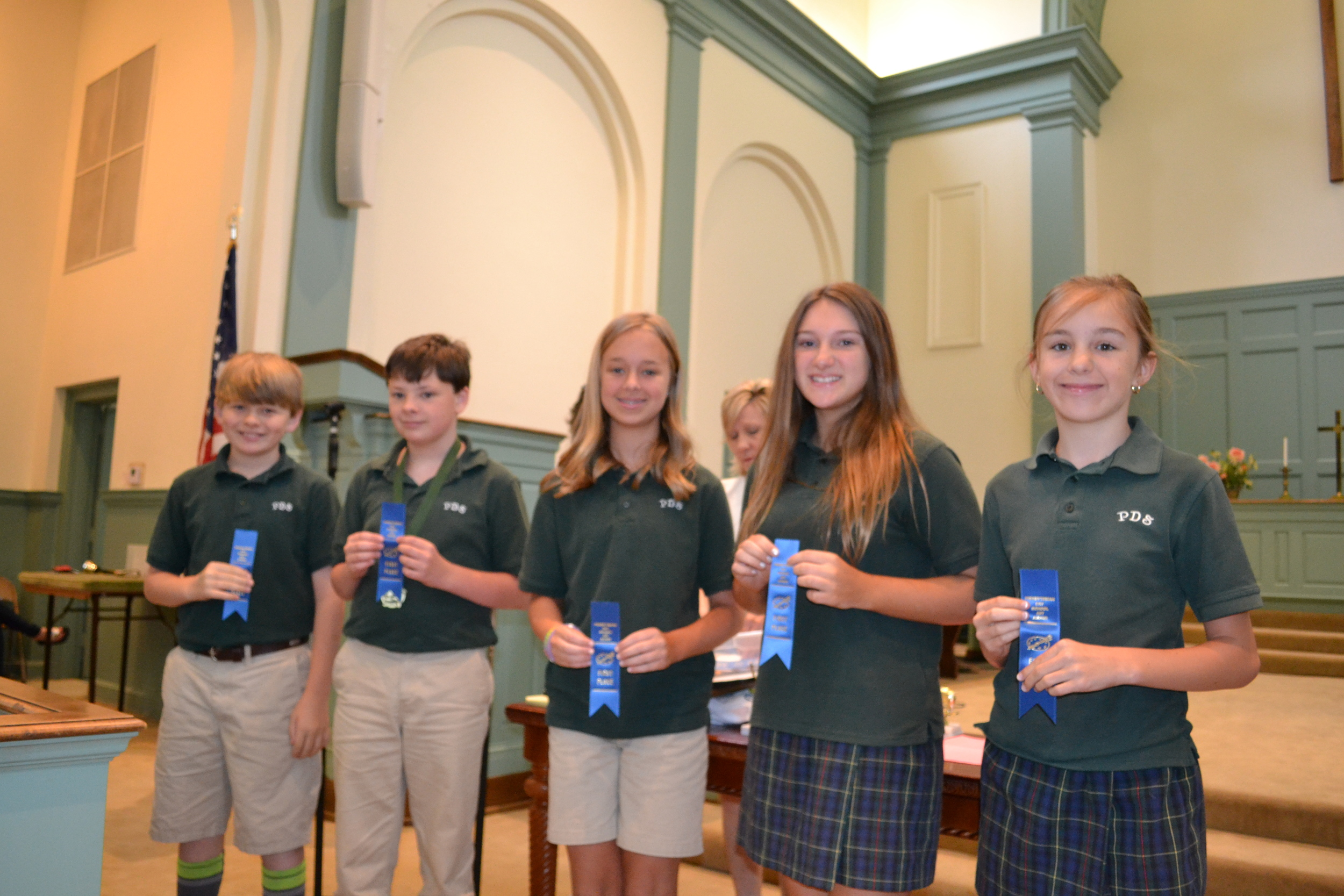 PDS art winners - 6th grade