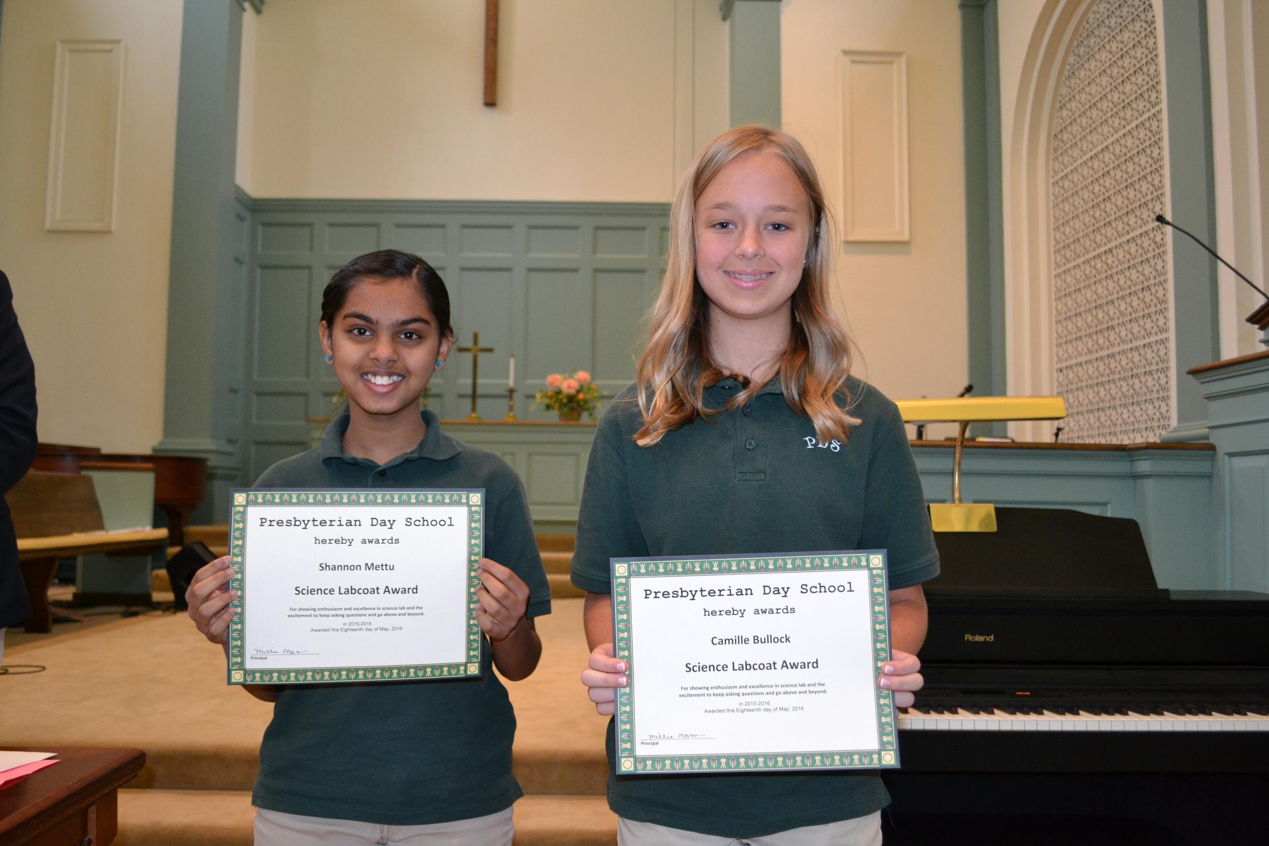 Science Labcoat Award