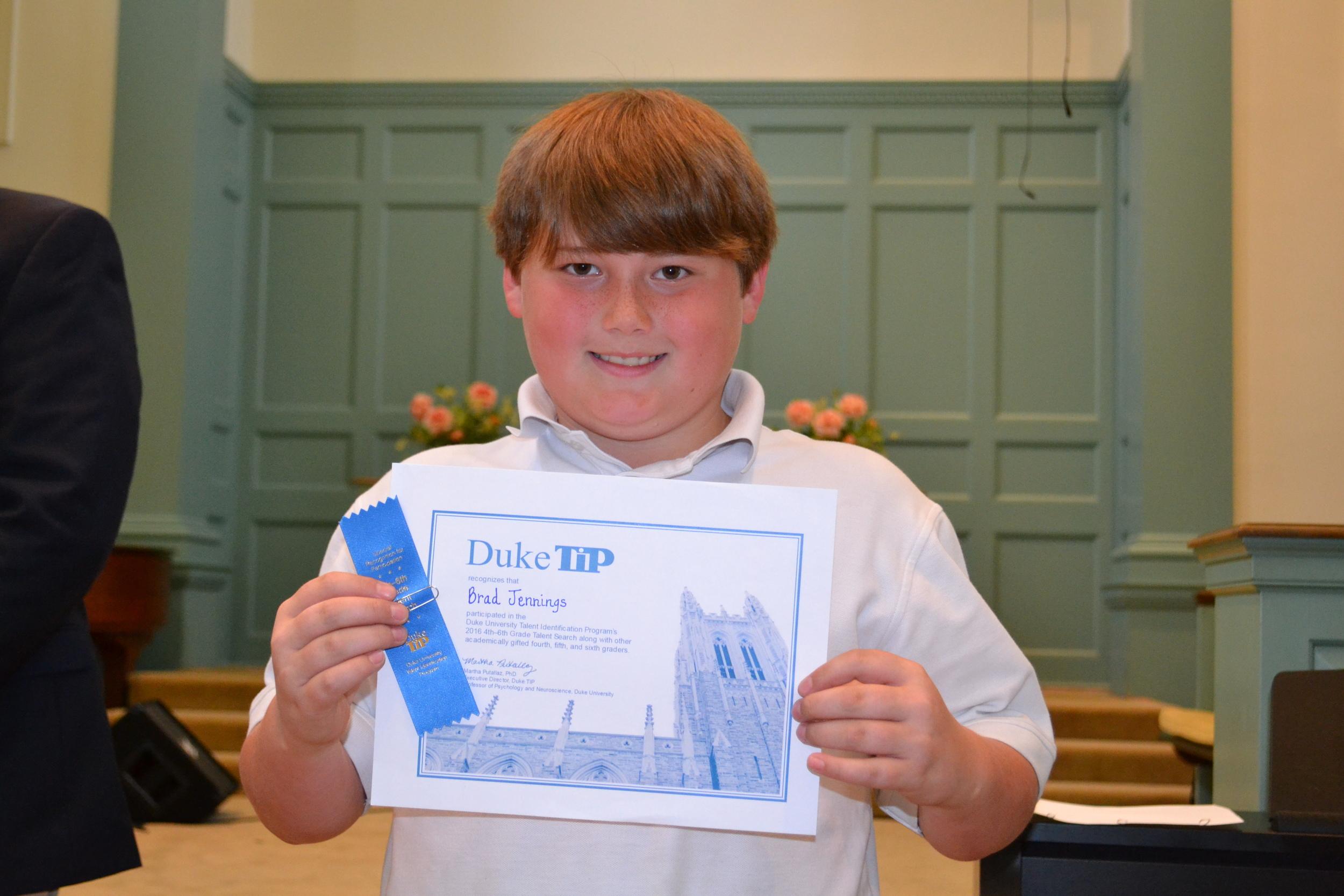 Duke Tip Award