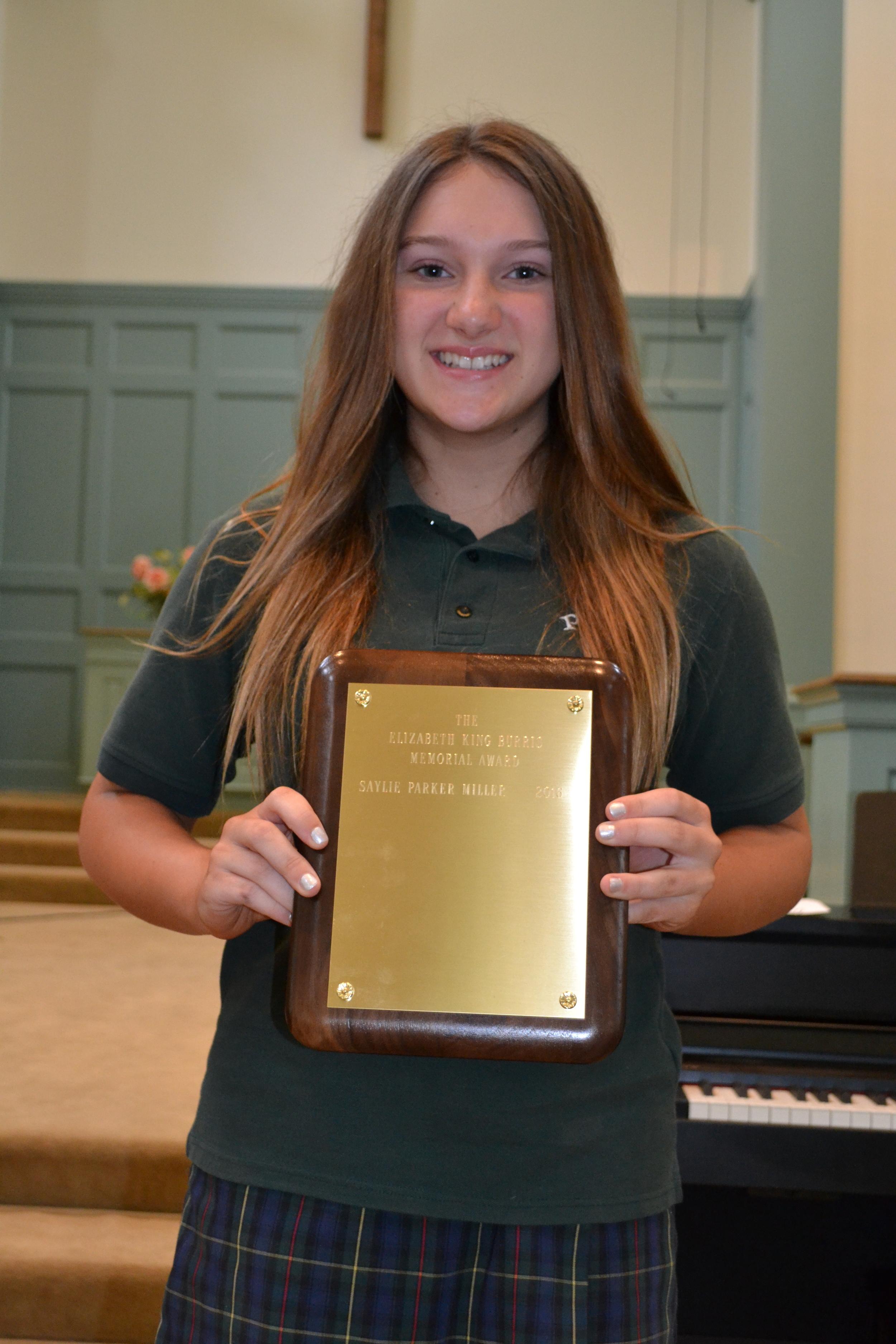 Elizabeth Burris Memorial Award