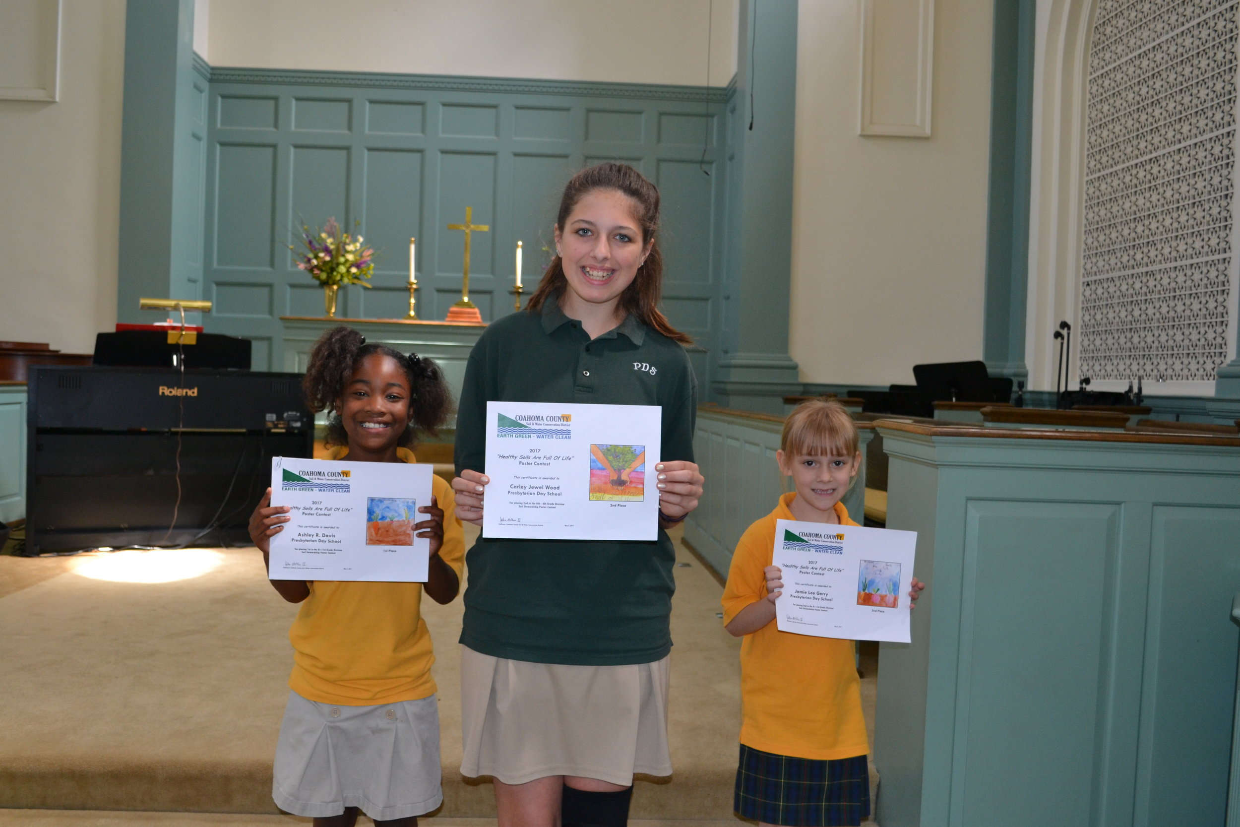 Coahoma County Soil Water Conservation District Poster Contest Winners