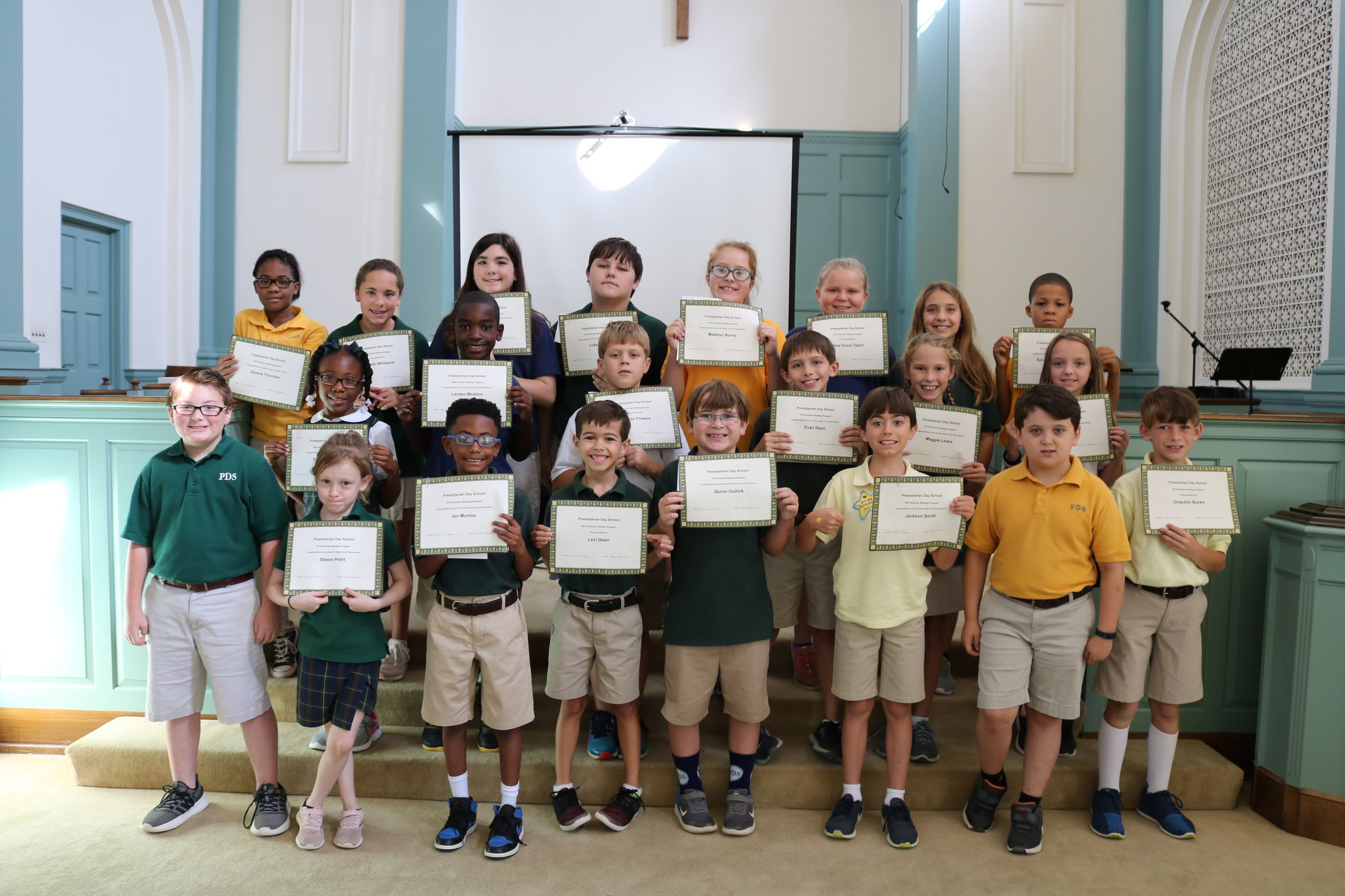 summer reading award winners