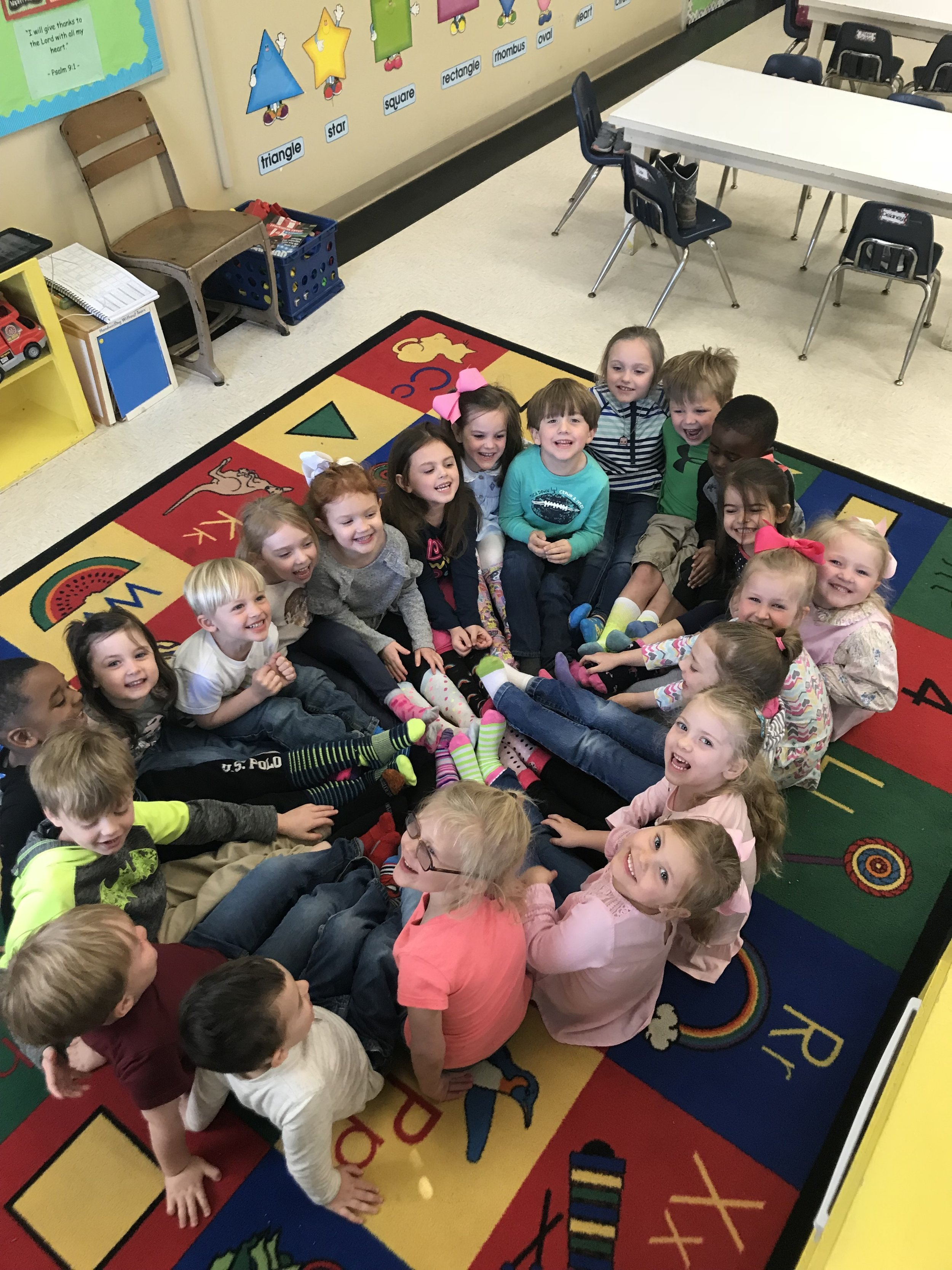 We ROCKED our socks for Down Syndrome — PRESBYTERIAN DAY SCHOOL
