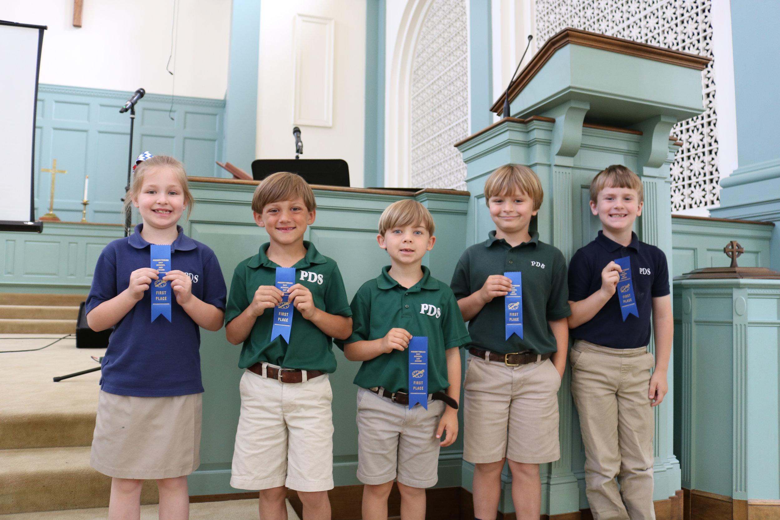 1st grade PDS winners