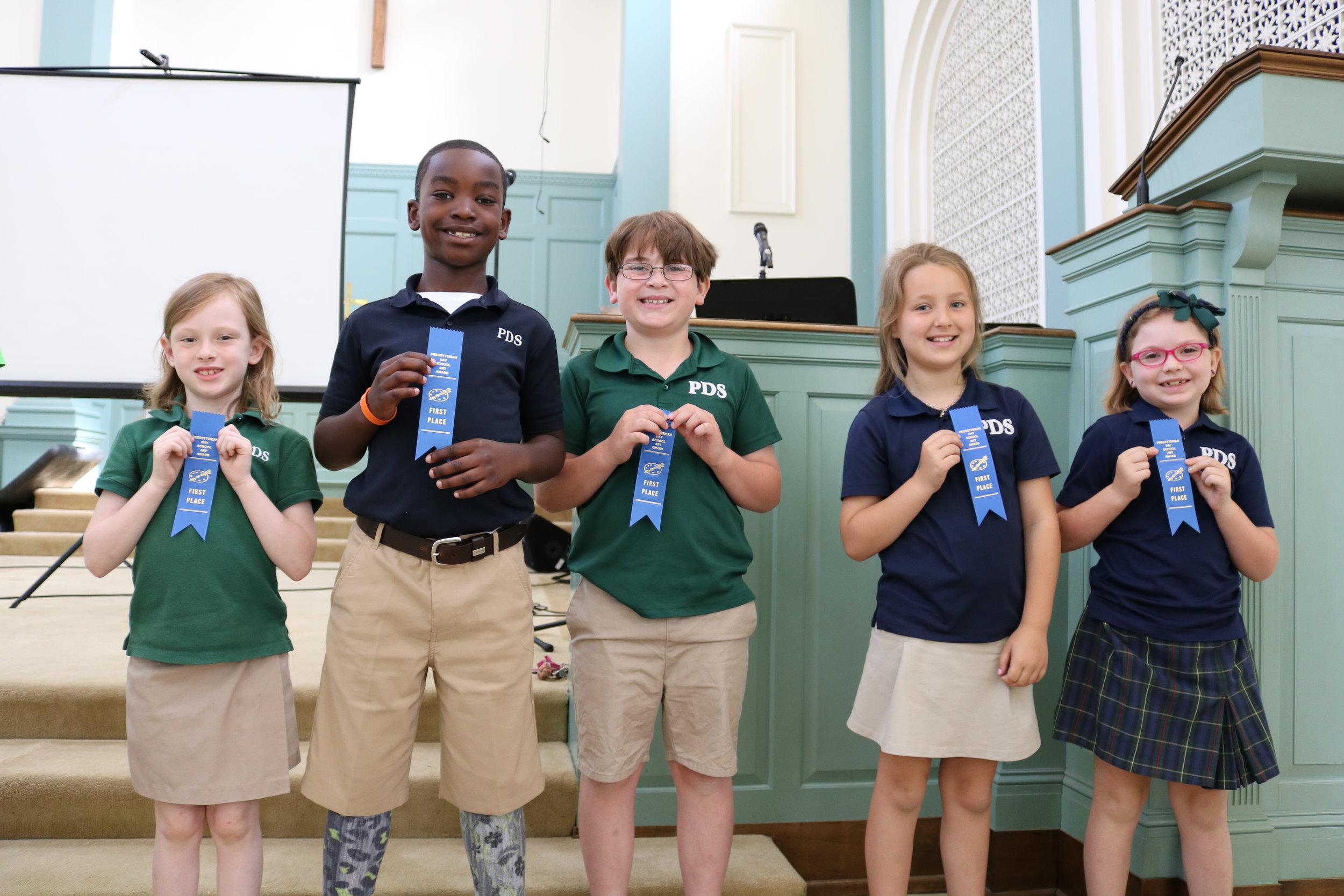 2nd grade PDS winners