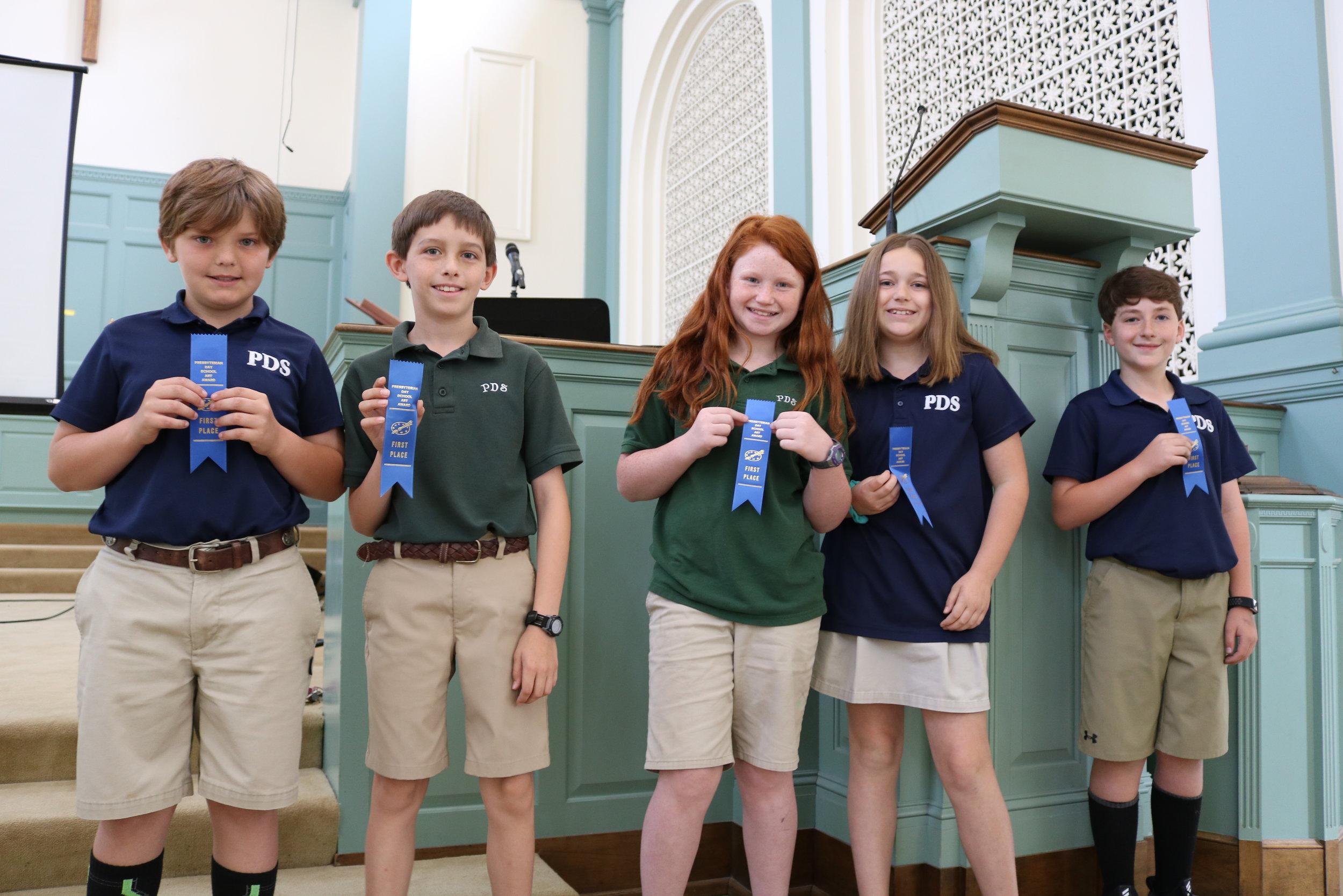 4th grade PDS winners