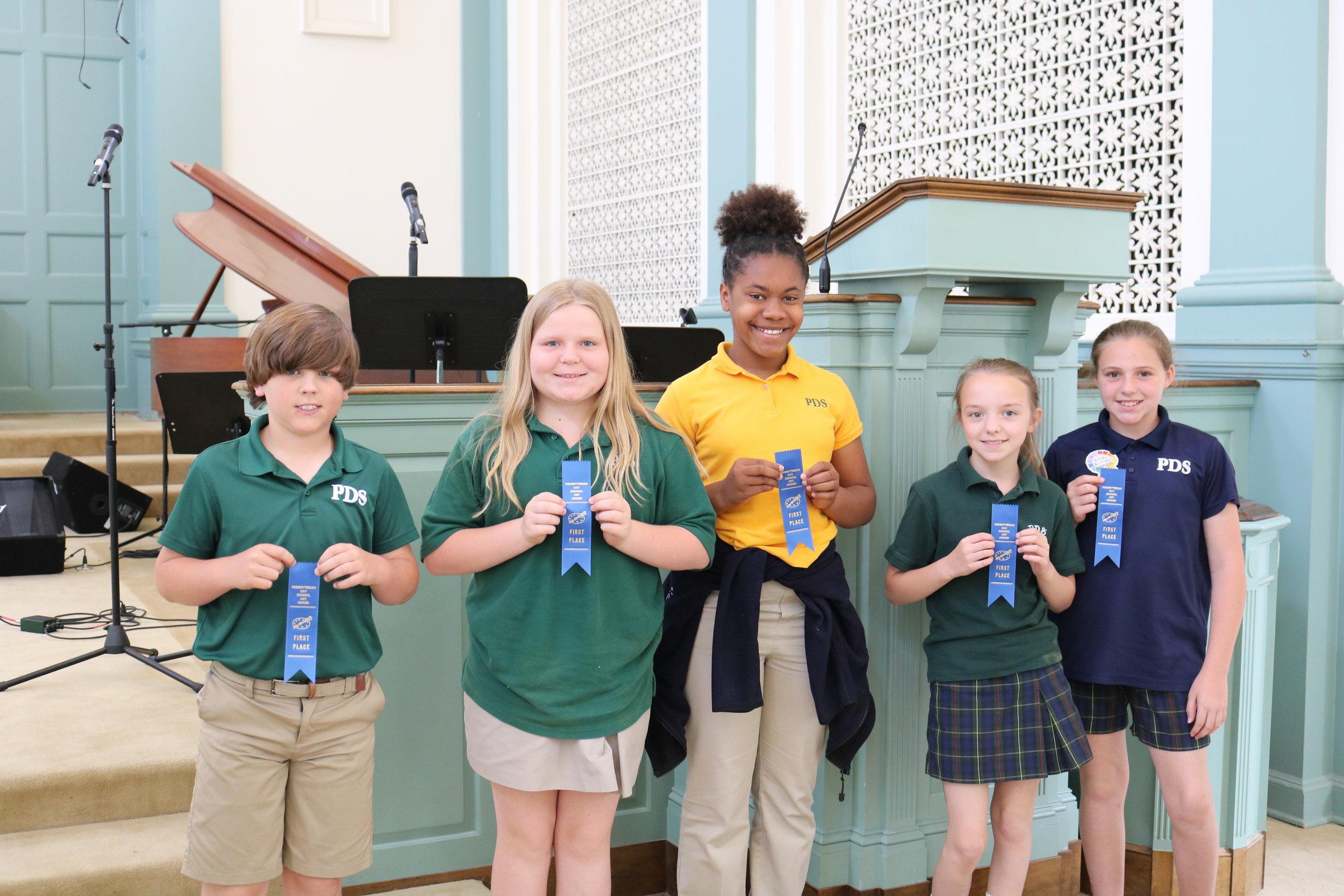 5th grade PDS winners