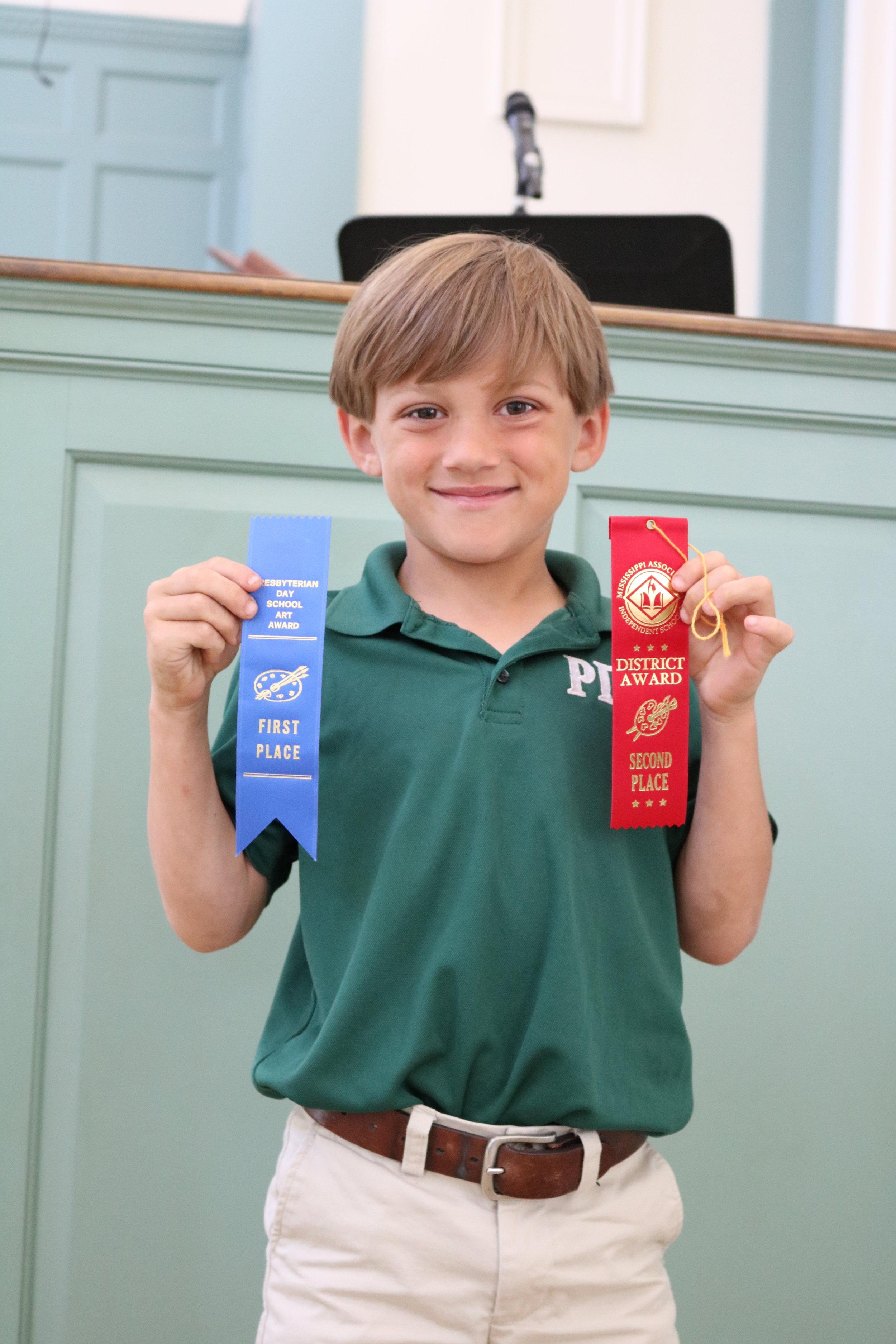 1st grade MAIS winner