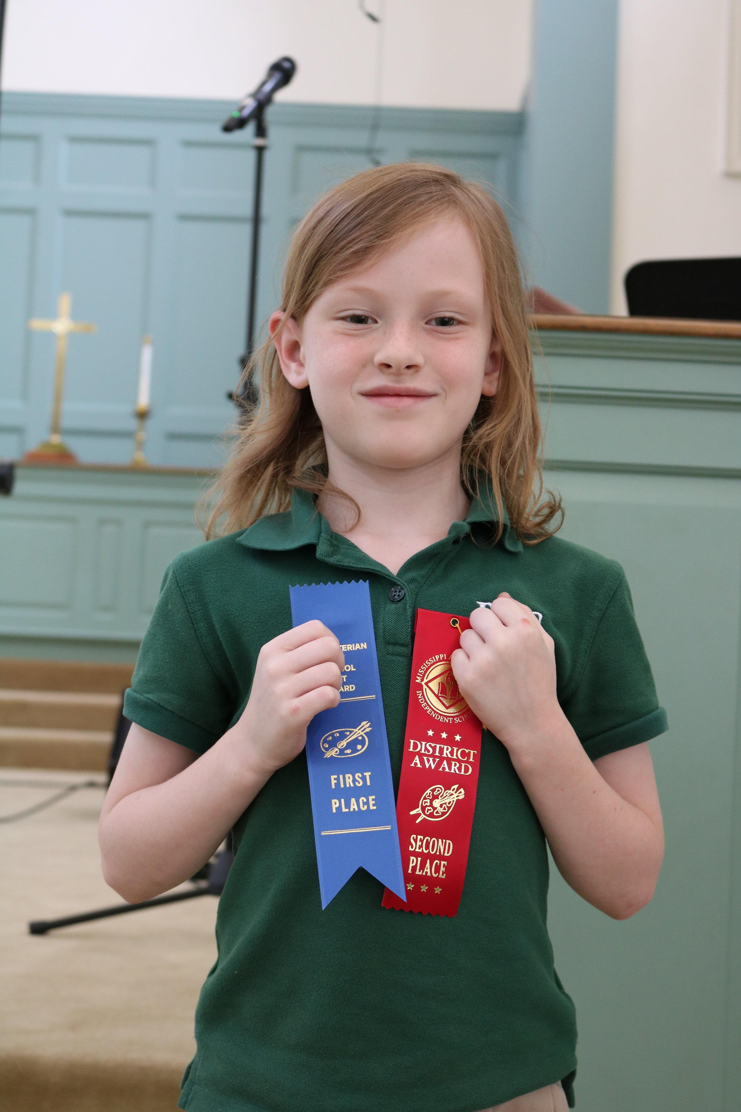 2nd grade MAIS winner