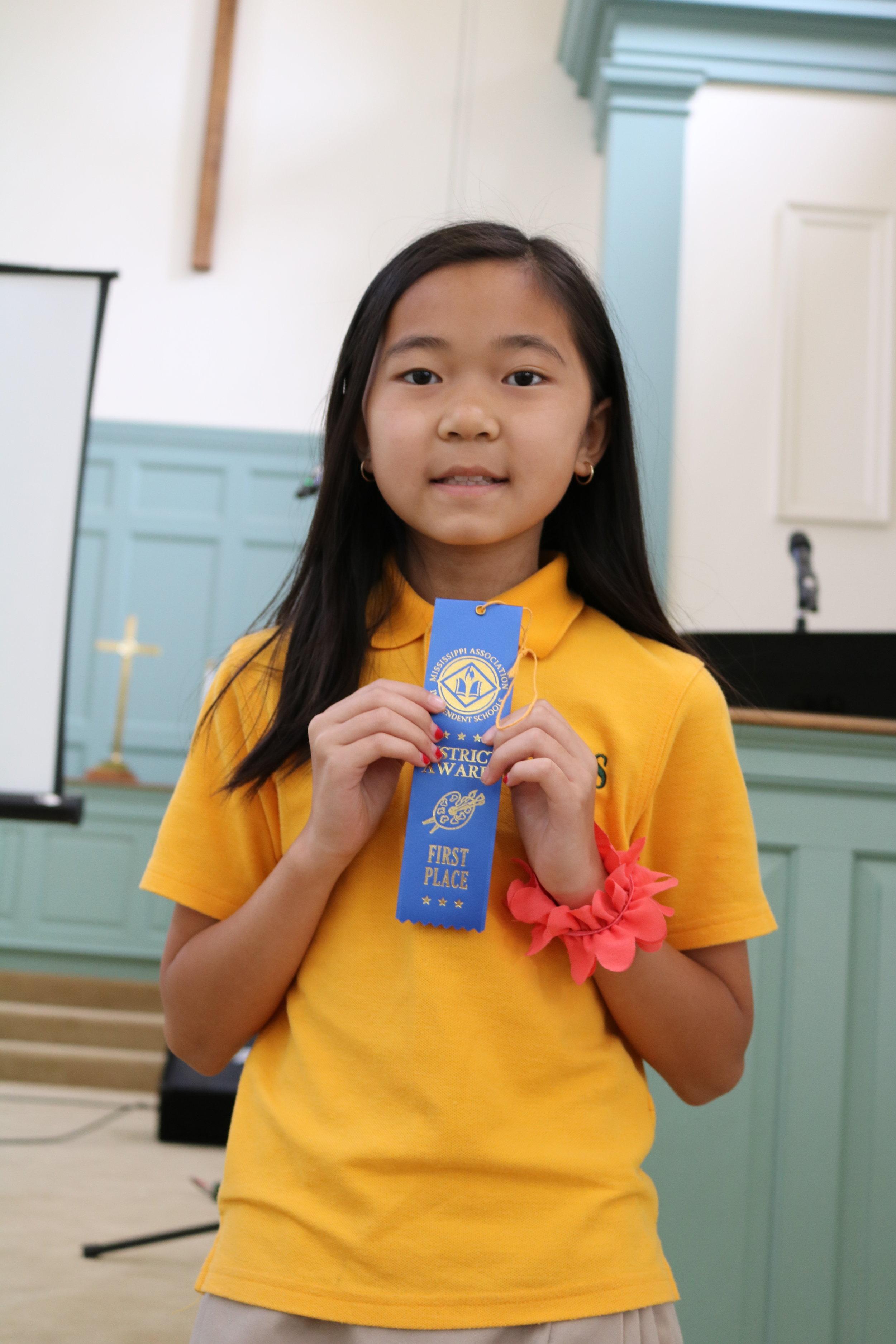 3rd grade MAIS winner