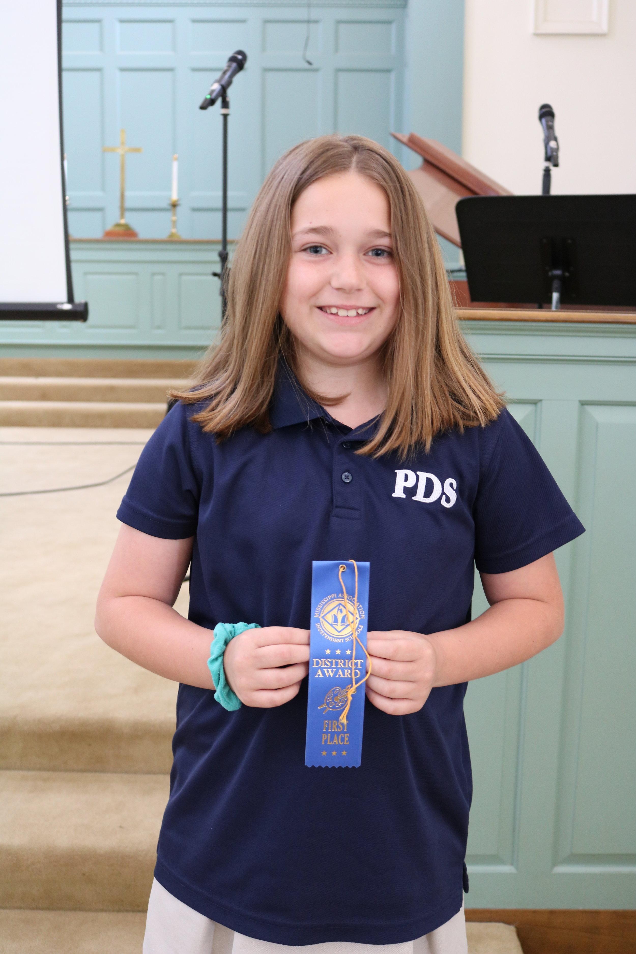 4th grade MAIS winner