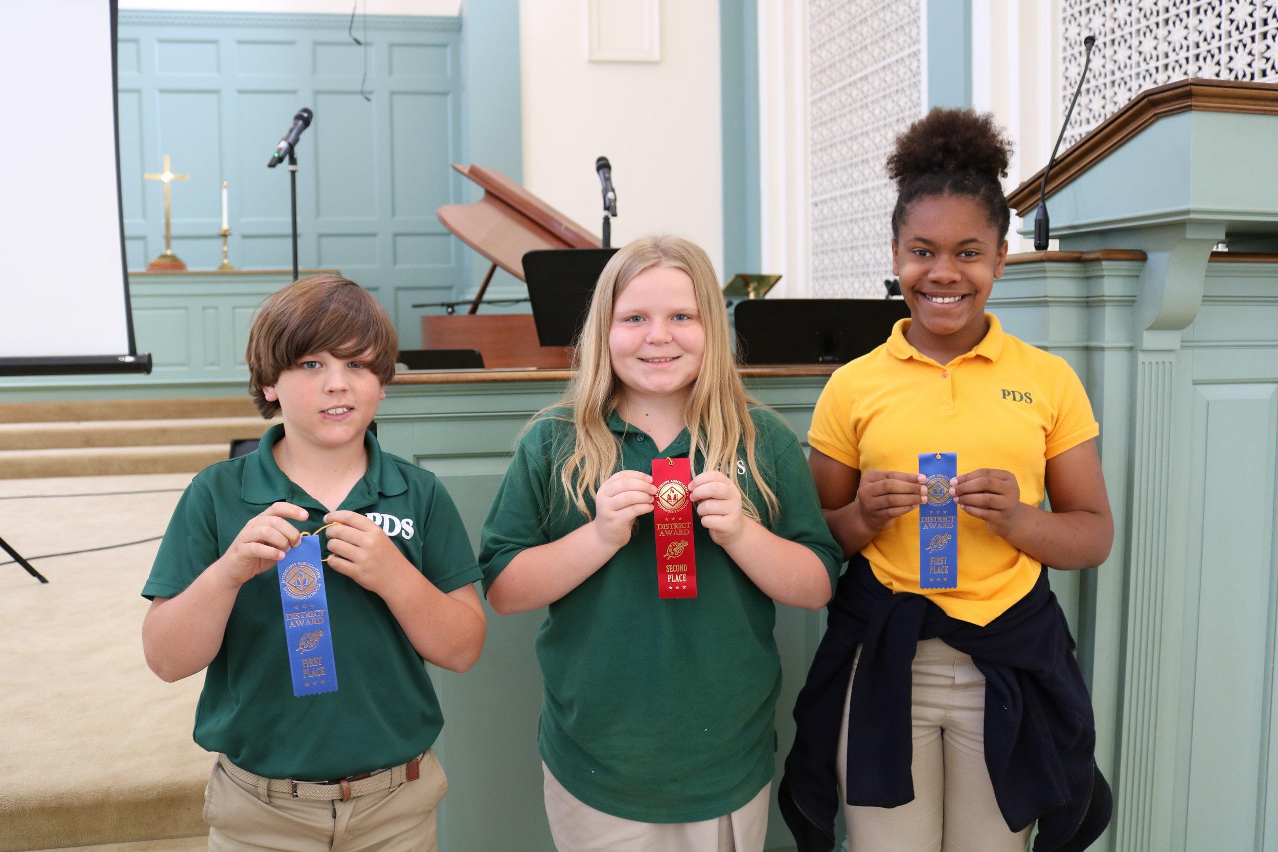 5th grade MAIS winners