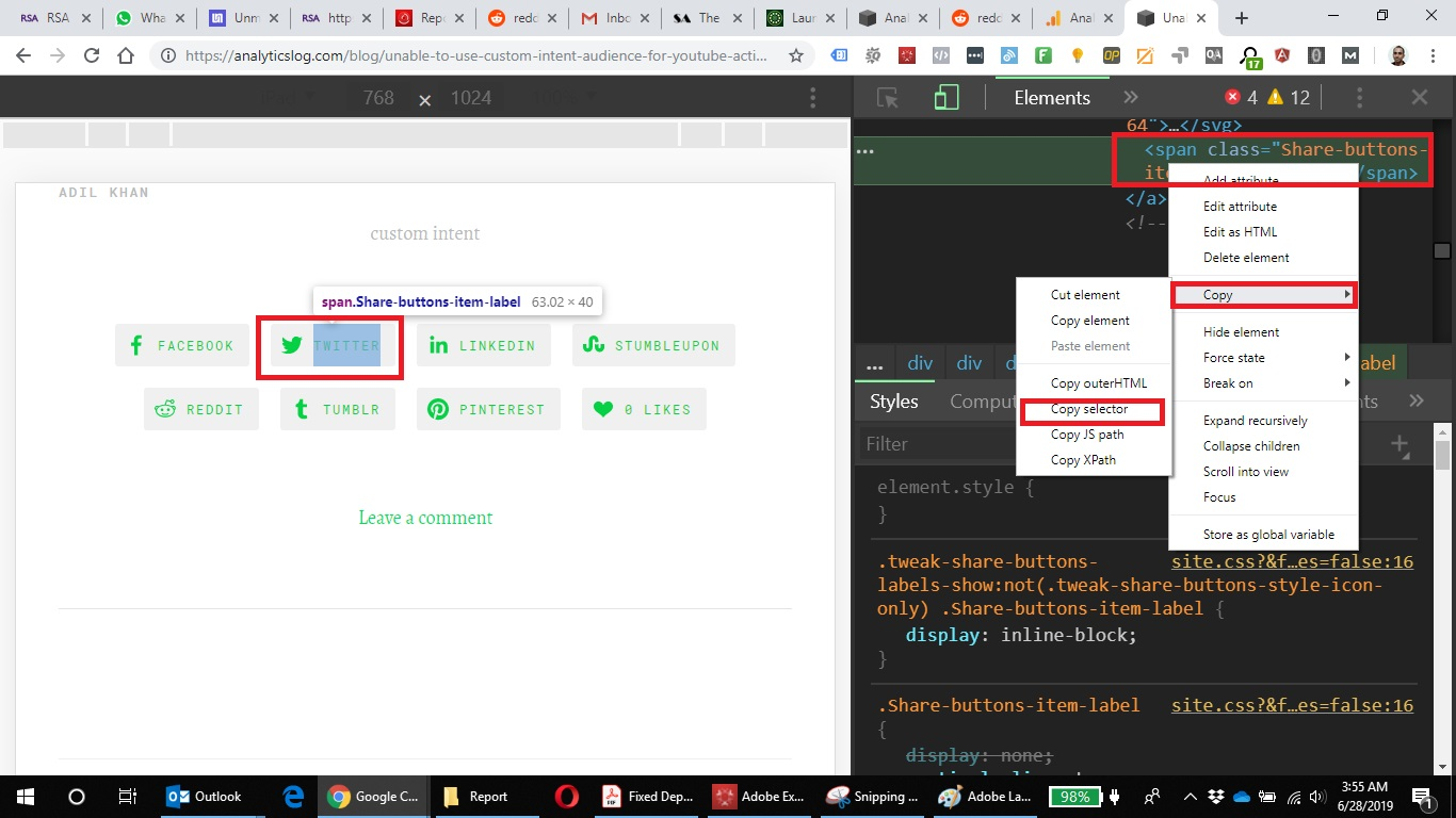 How to copy CSS selector in Chrome.jpg