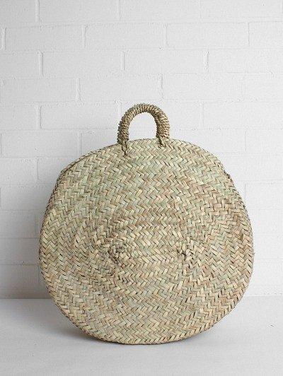 Circular Woven Basket, £40
