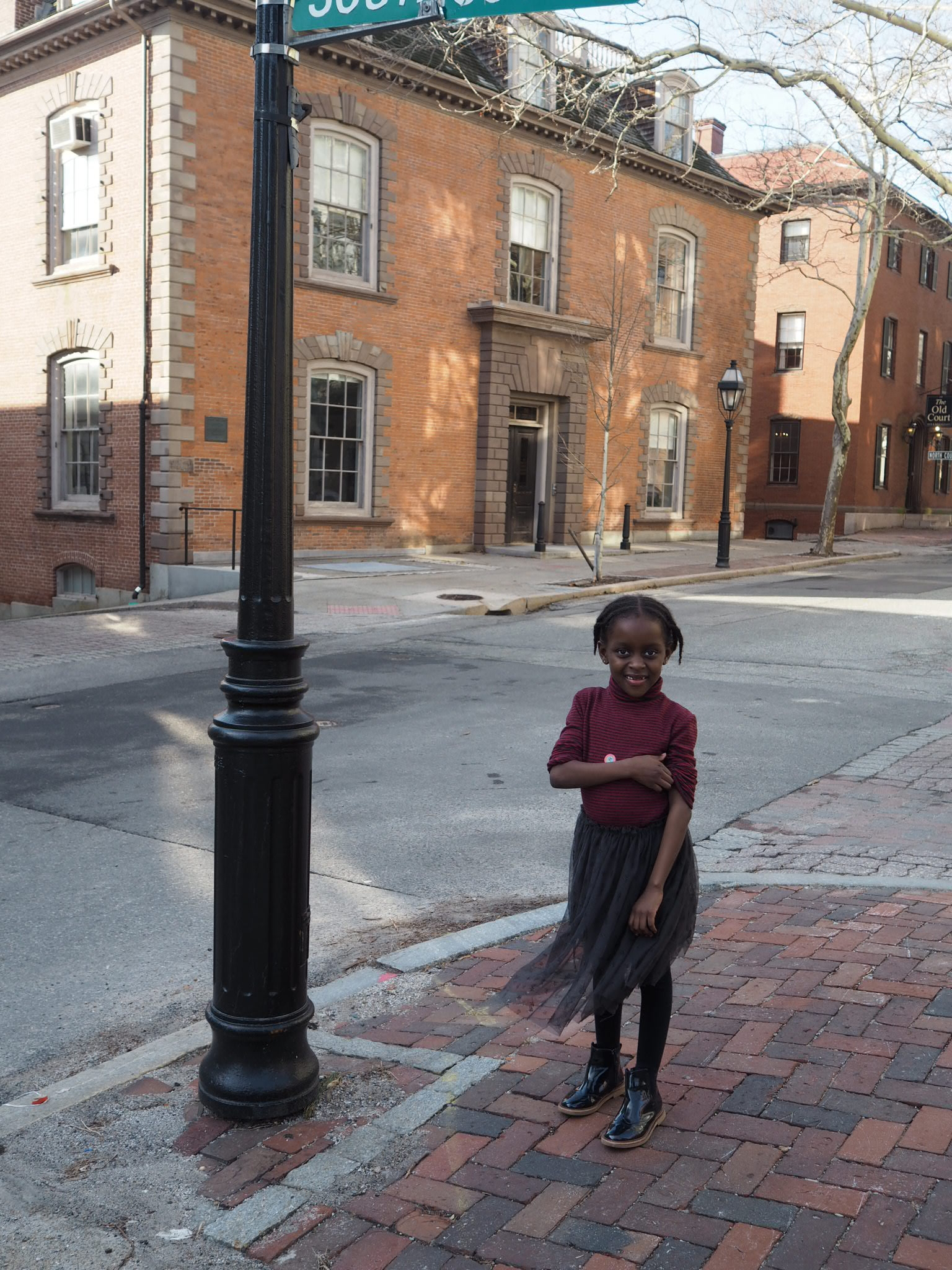 the architecture in providence reminds me so much of England. Lots of cobbled streets too! Pretty to look at but getting the buggy up them was a nightmare!