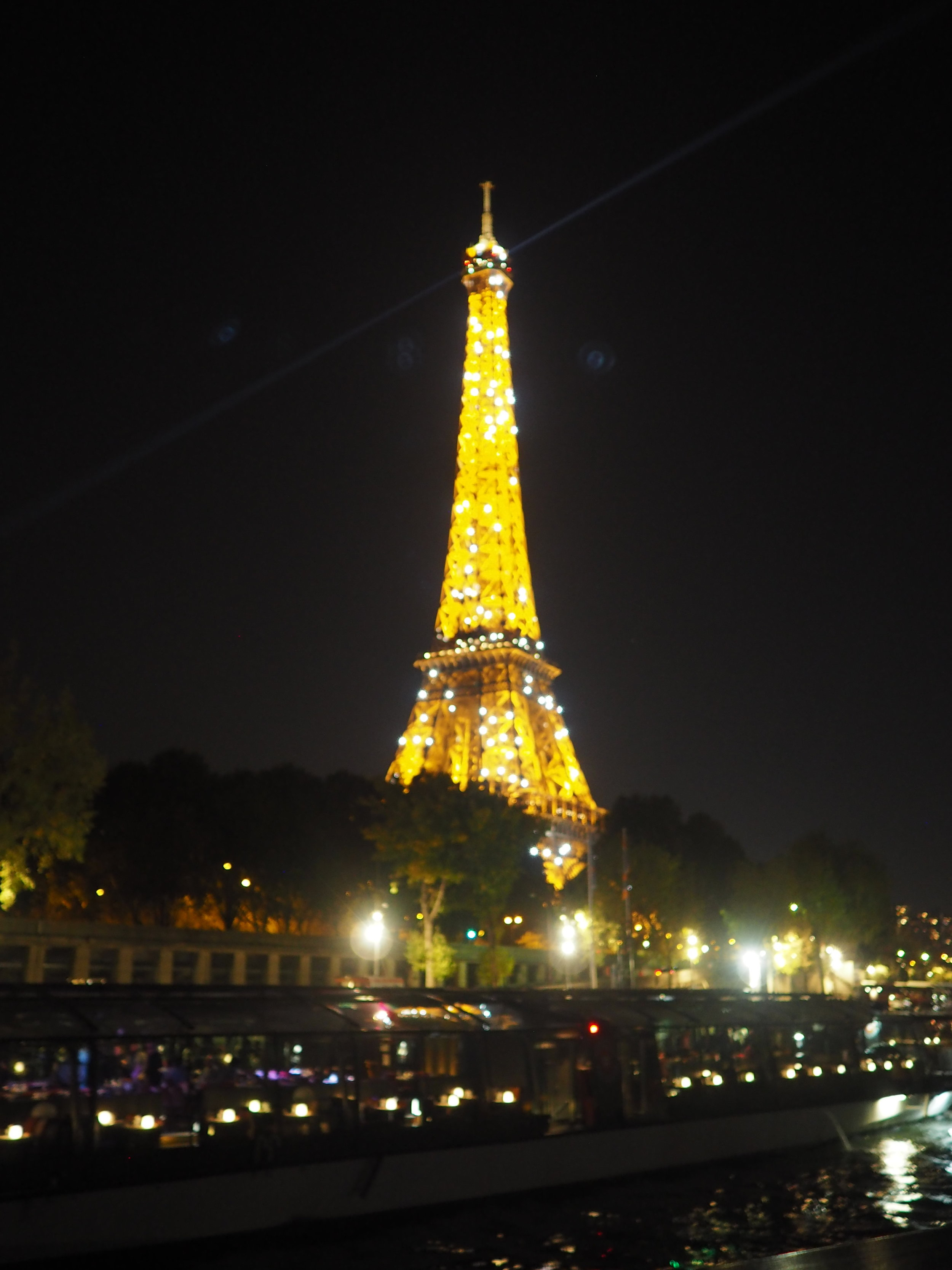 so hard to capture the magic of a twinkling Eiffel tower! honestly it was mesmerizing!