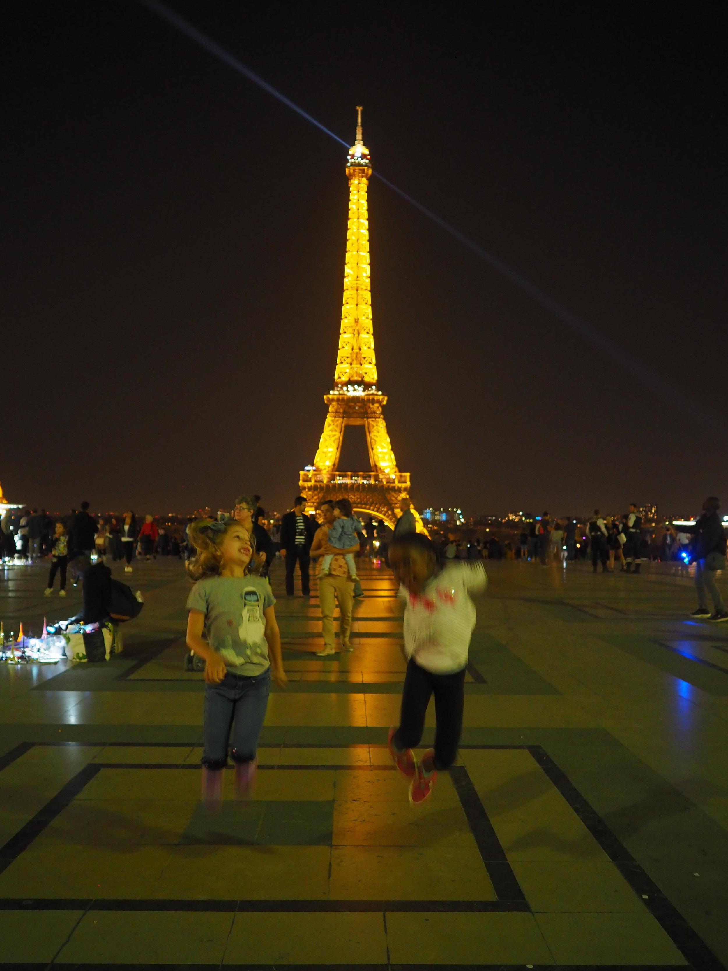 playing at Trocadero